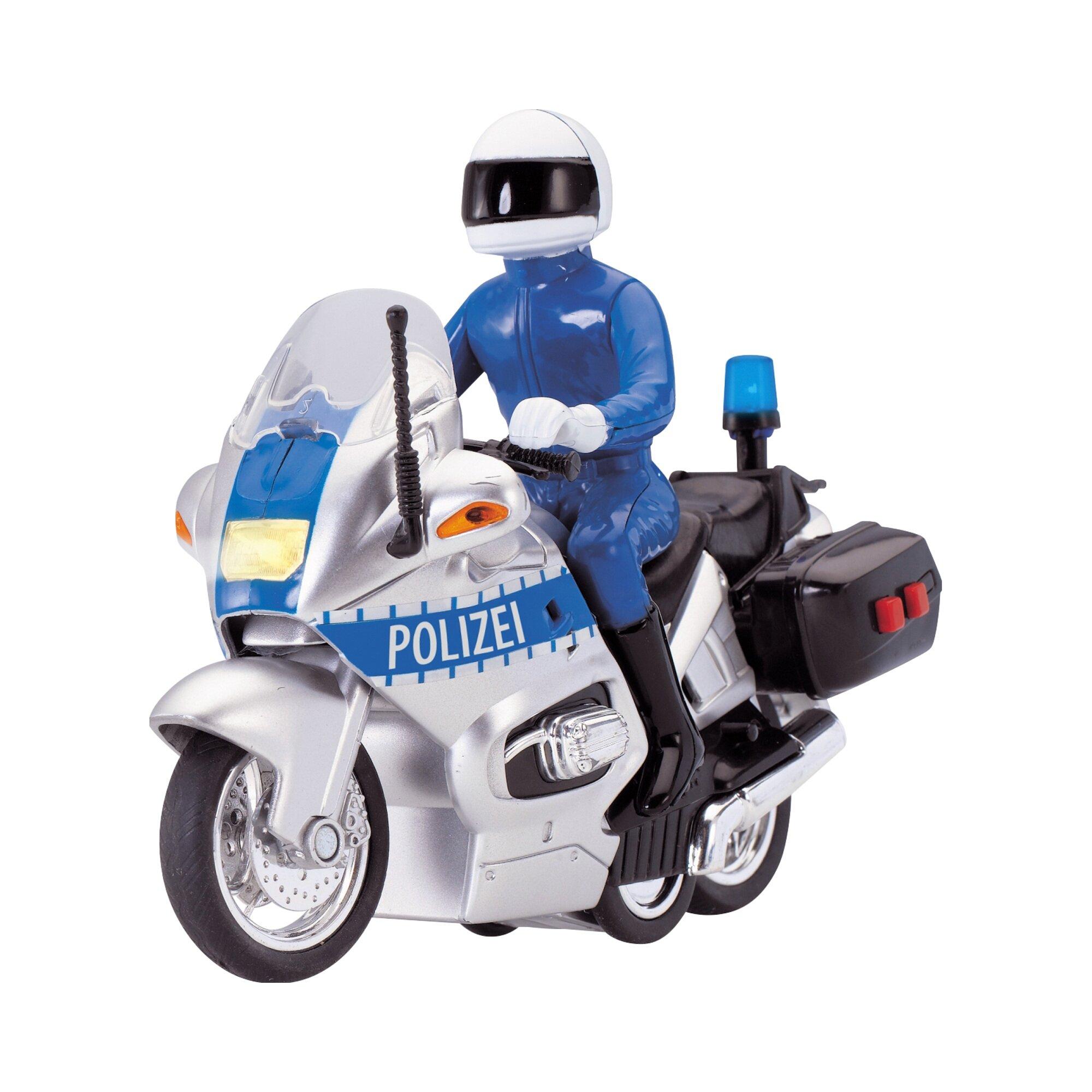 Dickie Toys Polizeimotorrad Police Bike