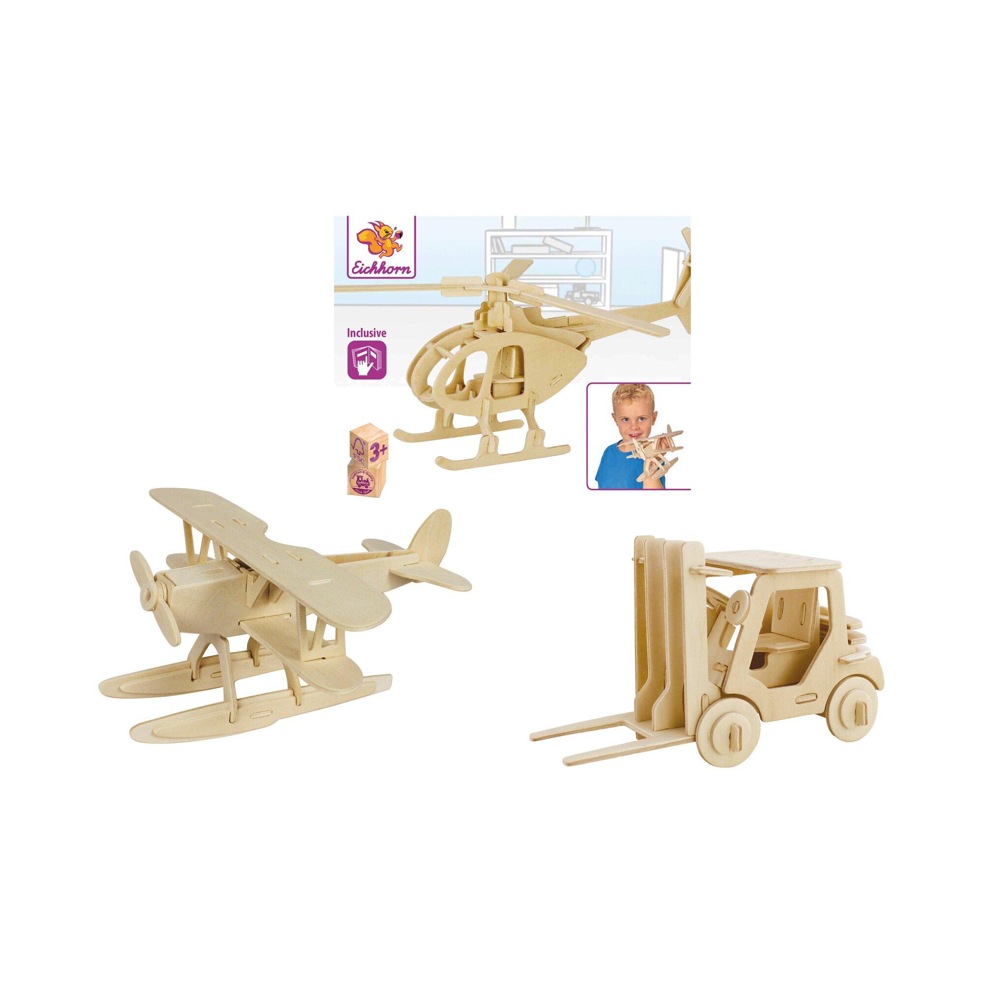 Eichhorn 3D Puzzle, 3er Set
