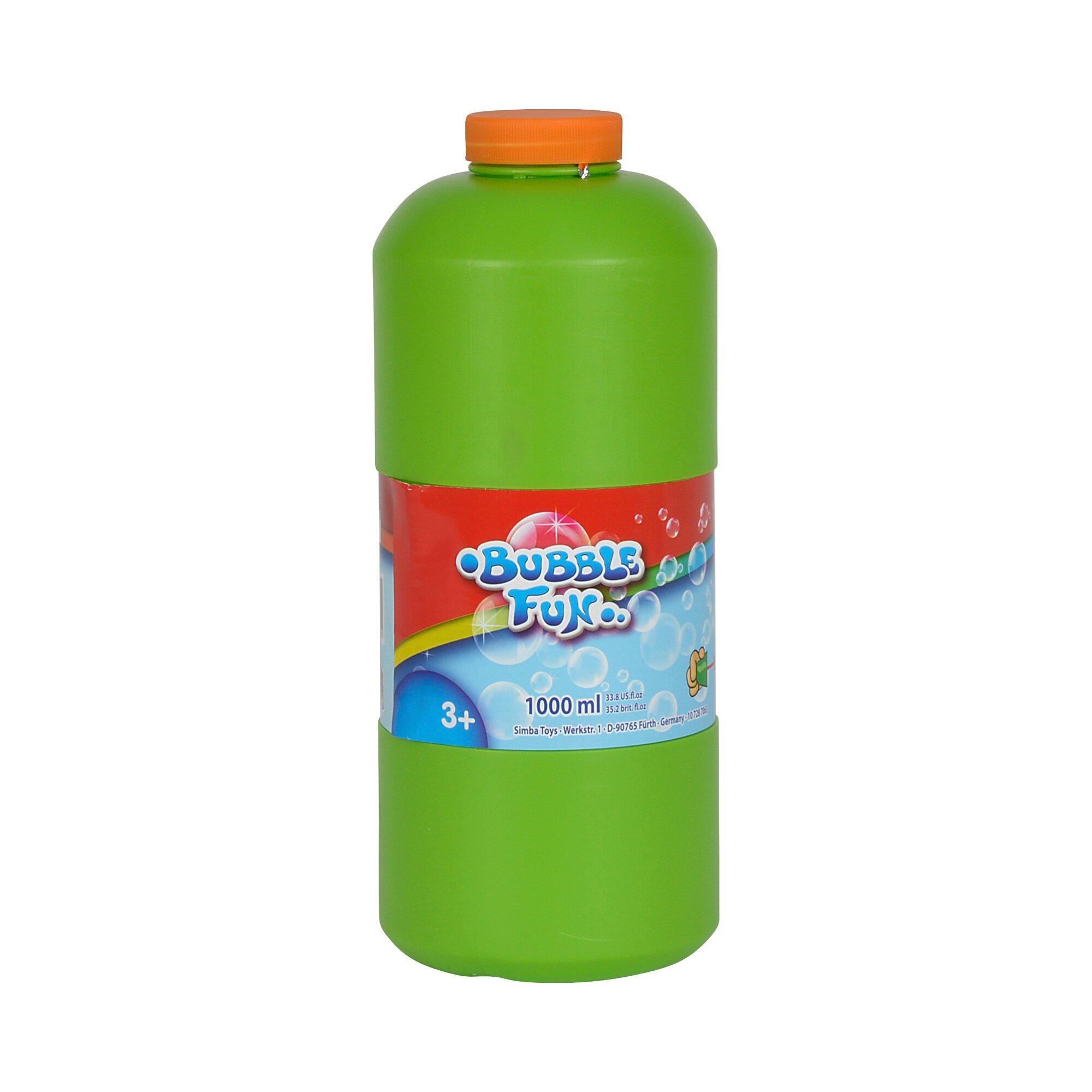 Simba Bubble Fun Seifenblasen-Auffüllflasche, 1 Liter