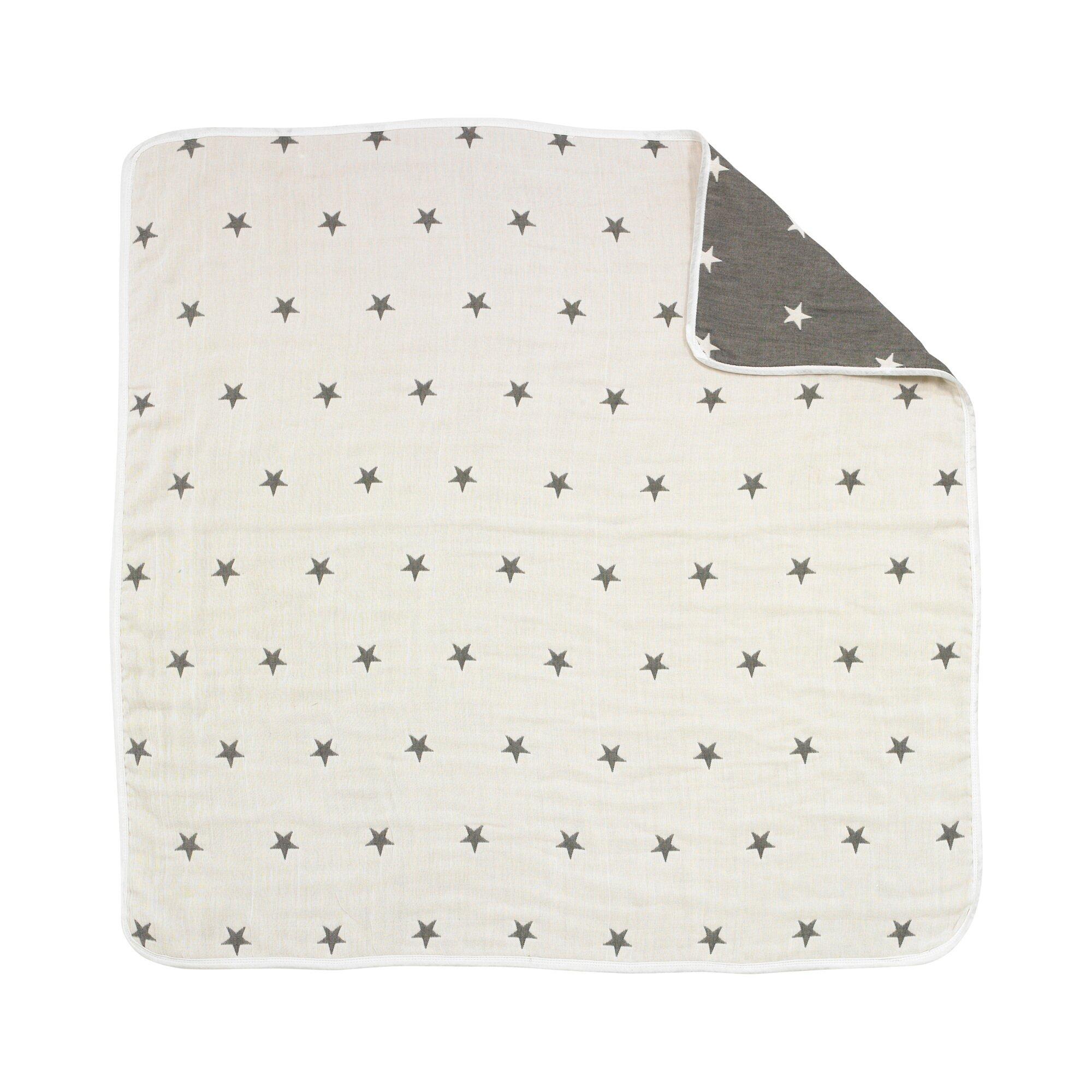 Decke Supermull 105x105 cm grau