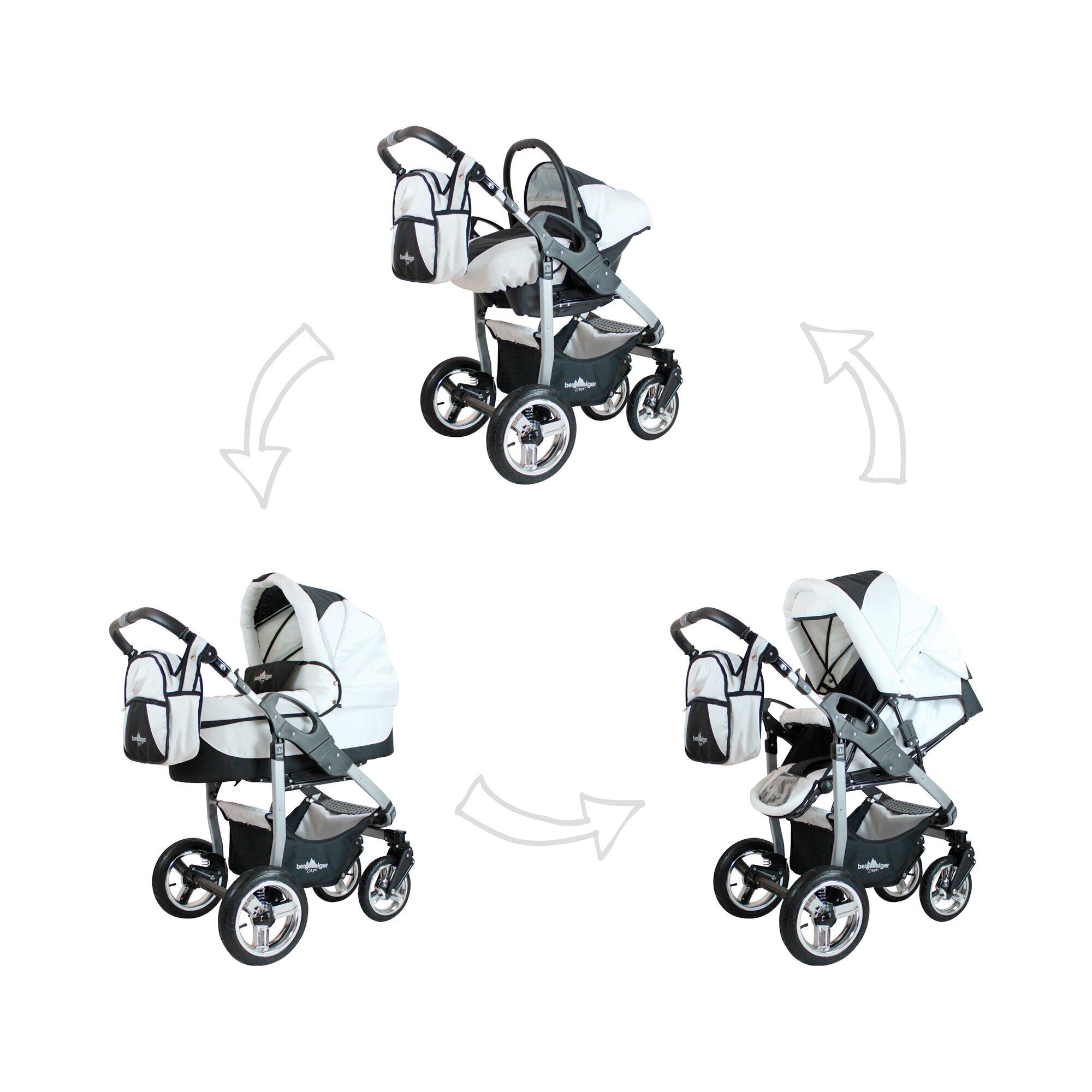 bergsteiger-capri-kombikinderwagen-trio-set-mit-wickeltasche-schwarz