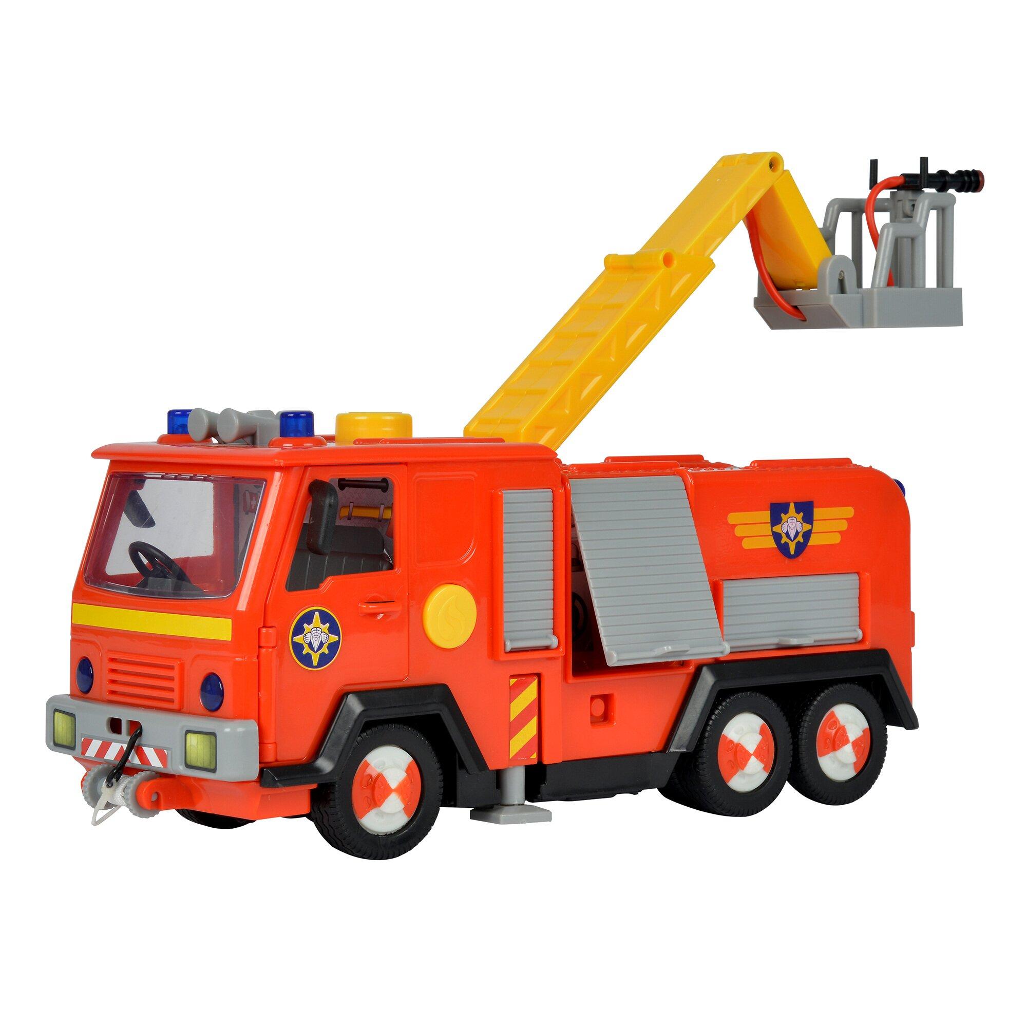 Feuerwehrmann Sam Feuerwehrwagen Jupiter mit 2 Figuren Preisvergleich