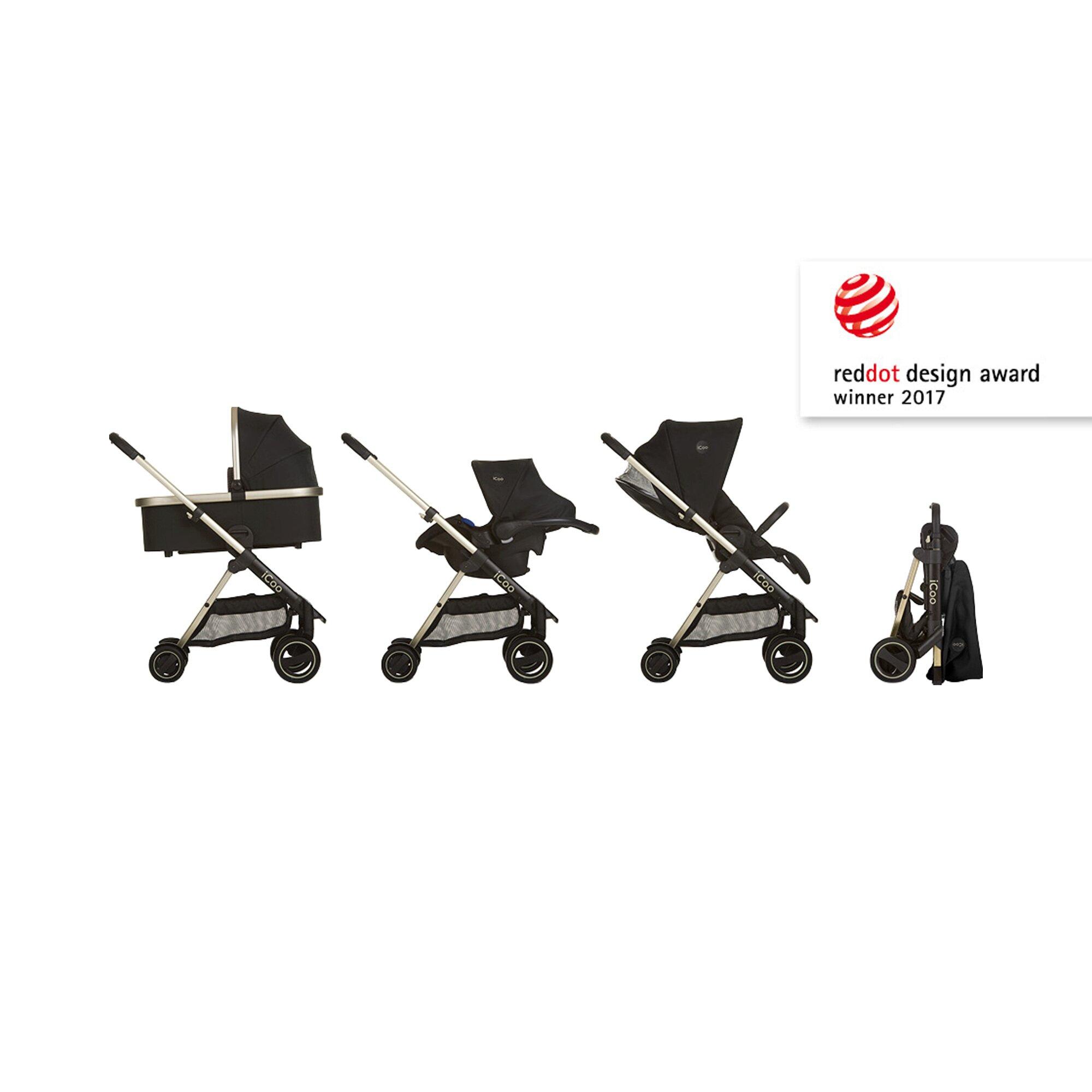 icoo-acrobat-xl-plus-kombikinderwagen-trio-set-incl-led-beleuchtung-schwarz