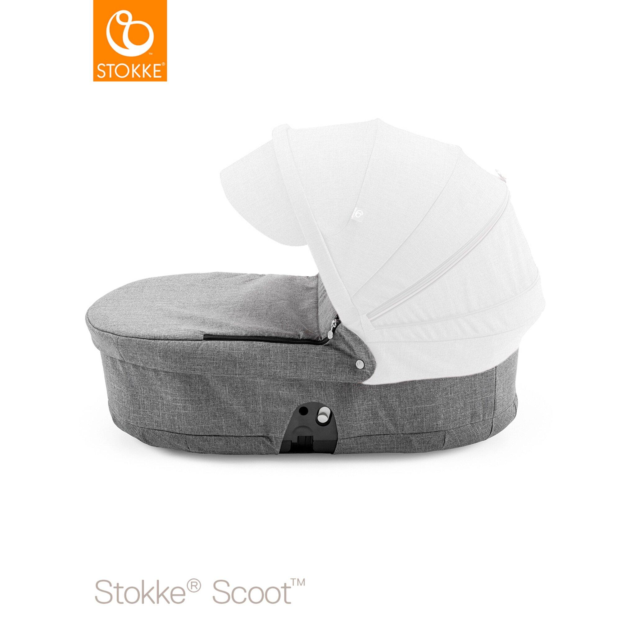 Scoot Tragewanne grau