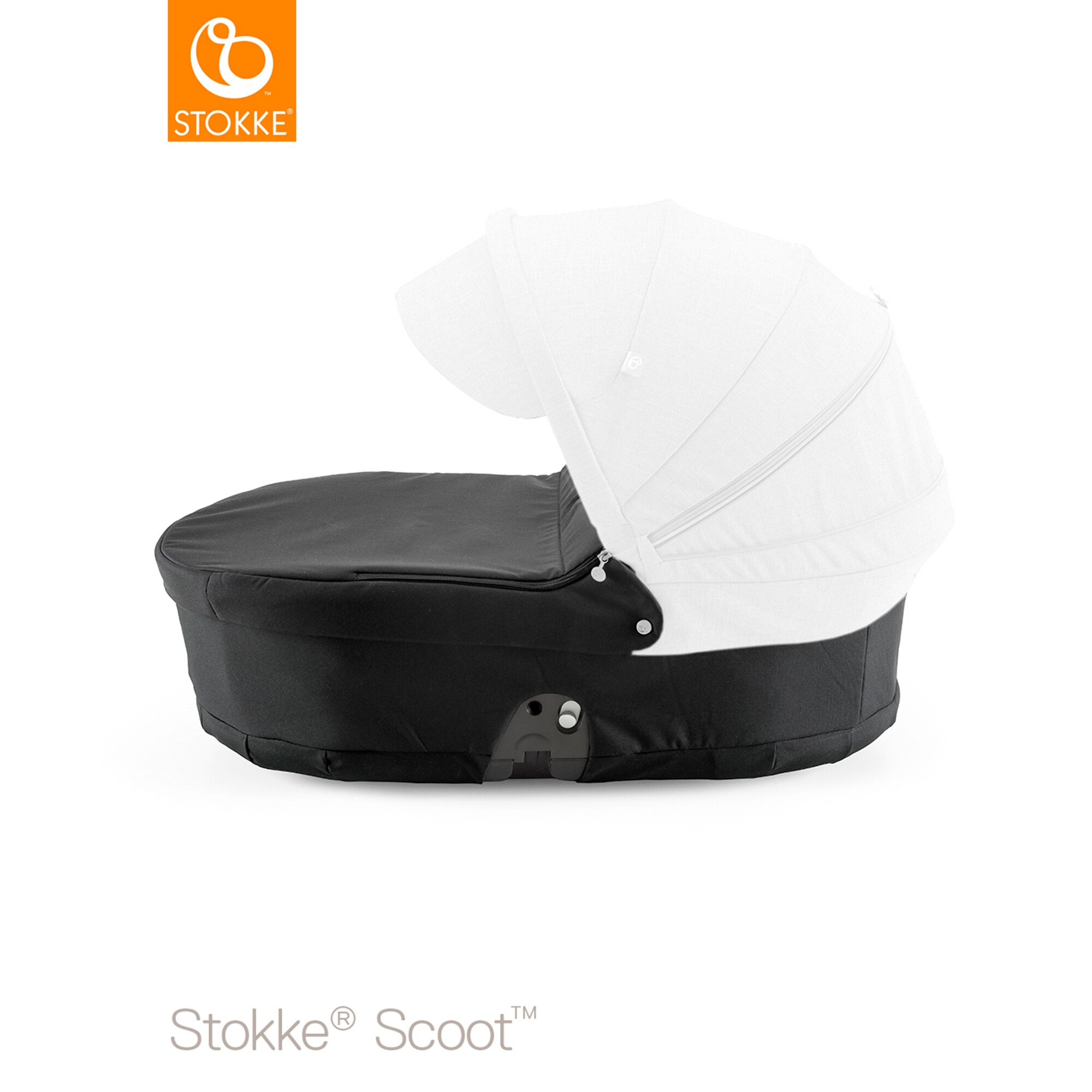 Scoot Tragewanne schwarz
