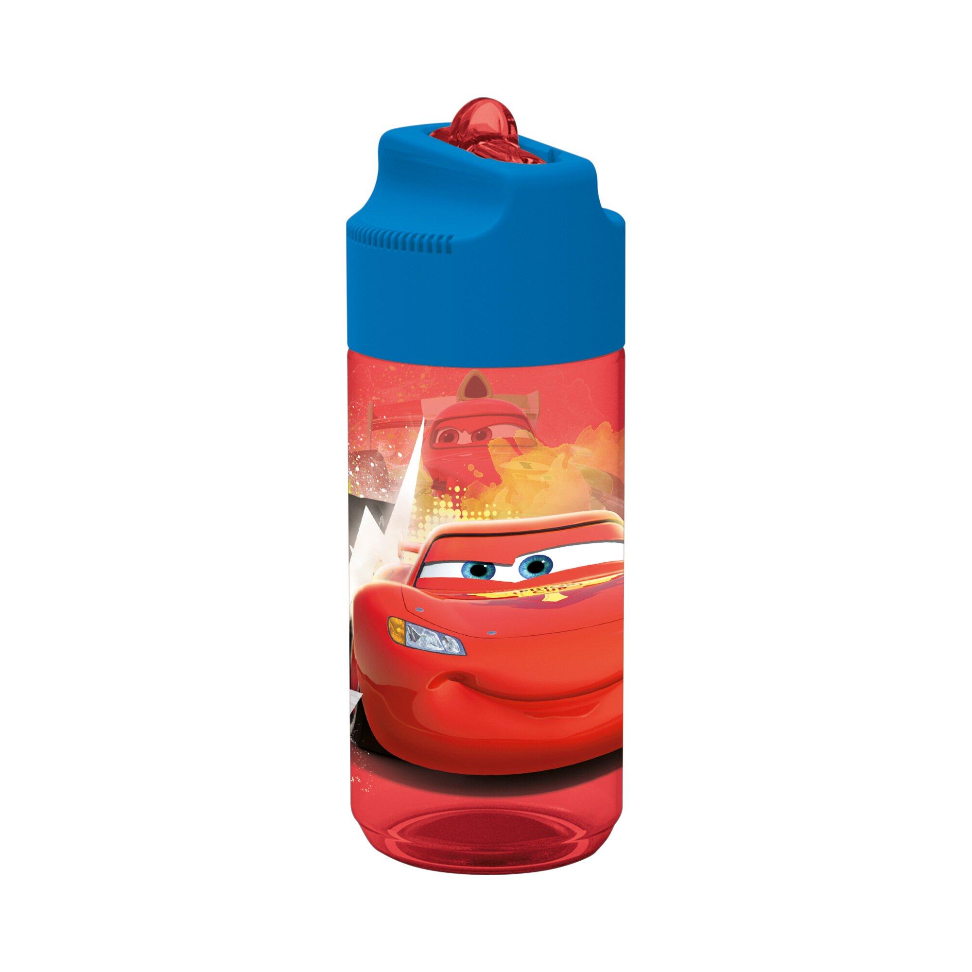 Disney Cars Tritan Trinkflasche mit Strohhalm