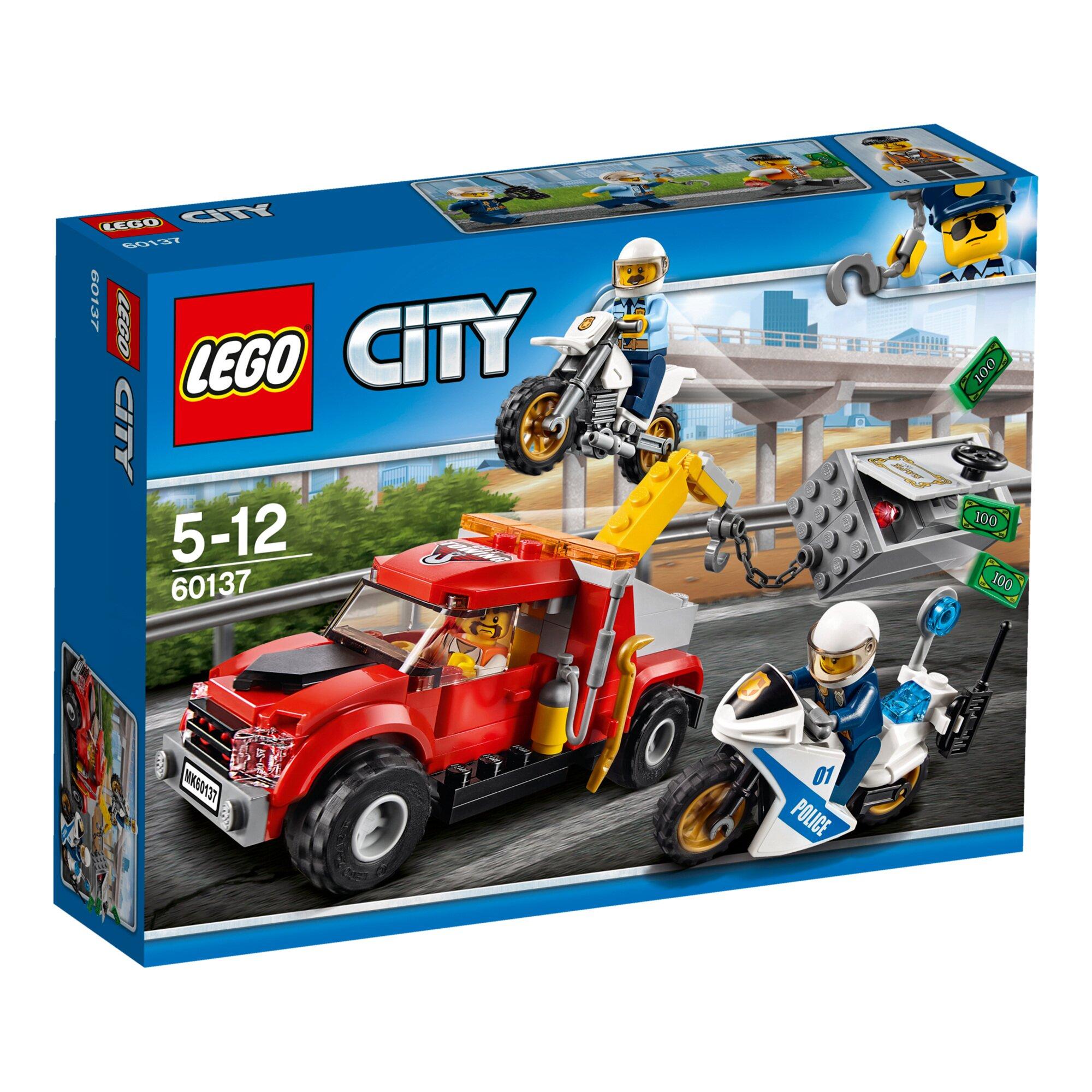 City 60137 Abschleppwagen auf Abwegen