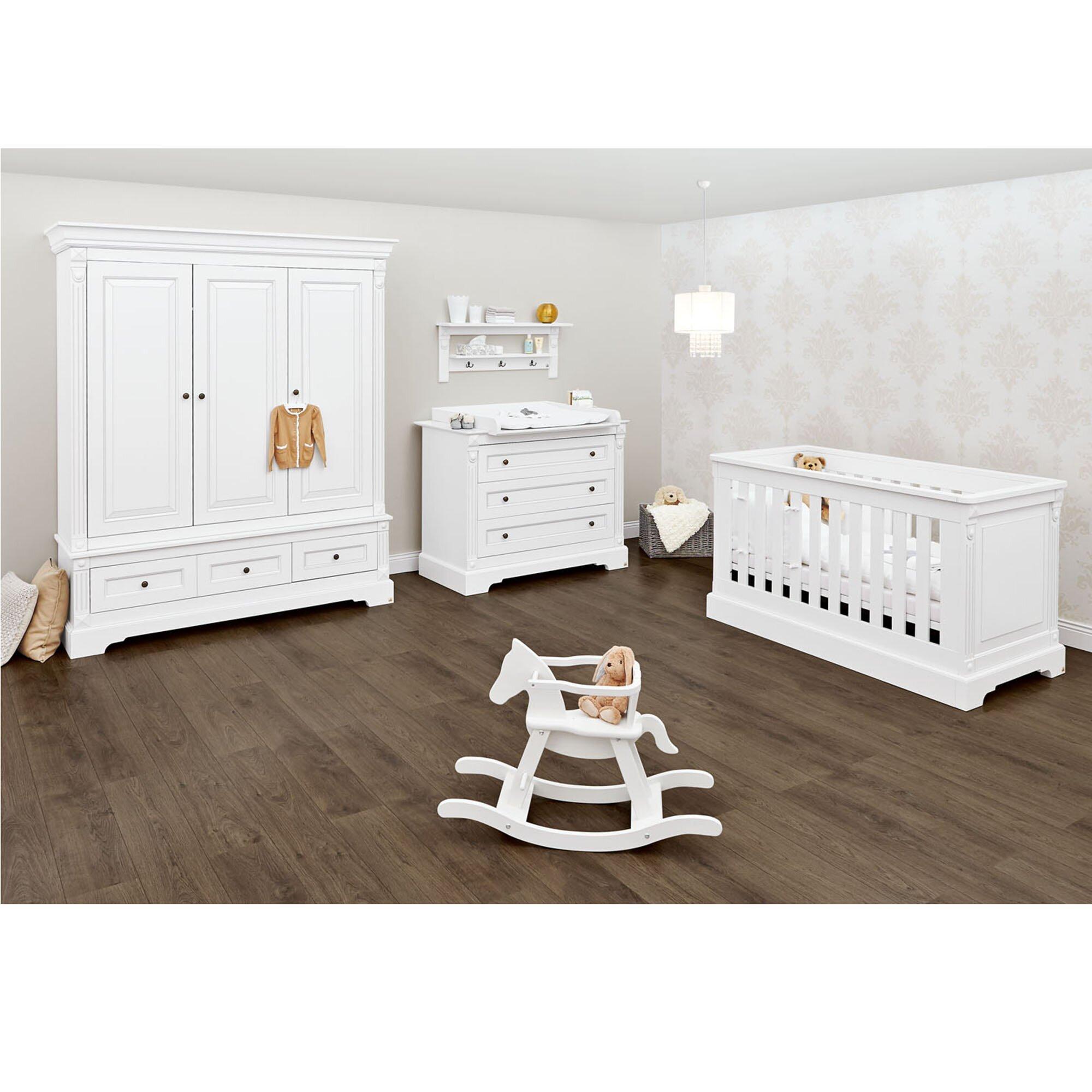 Pinolino 3-tlg. Babyzimmer Emilia breit groß