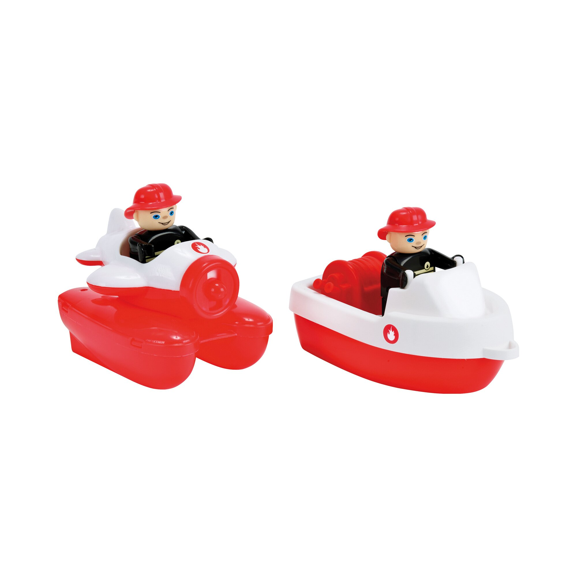 Big Badespielzeug Waterplay Fire-Boat-Set