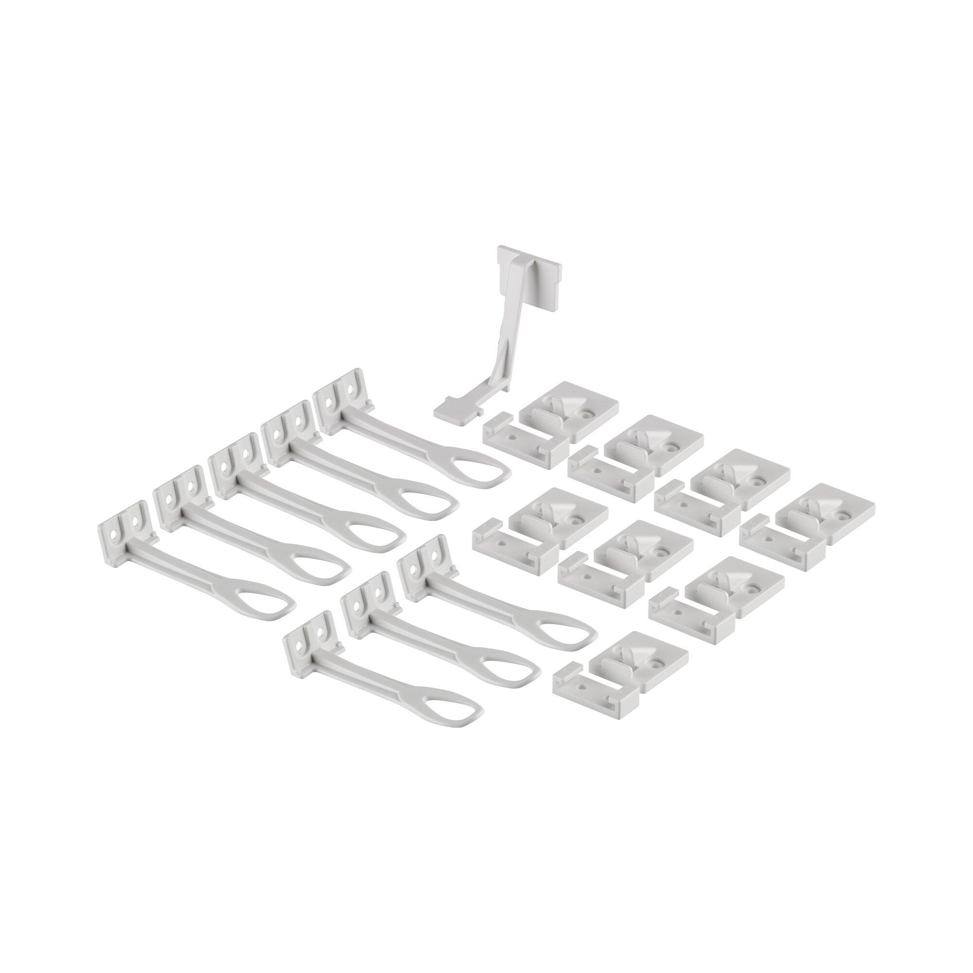 Reer 8er-Pack Schrank- und Schubladensicherung