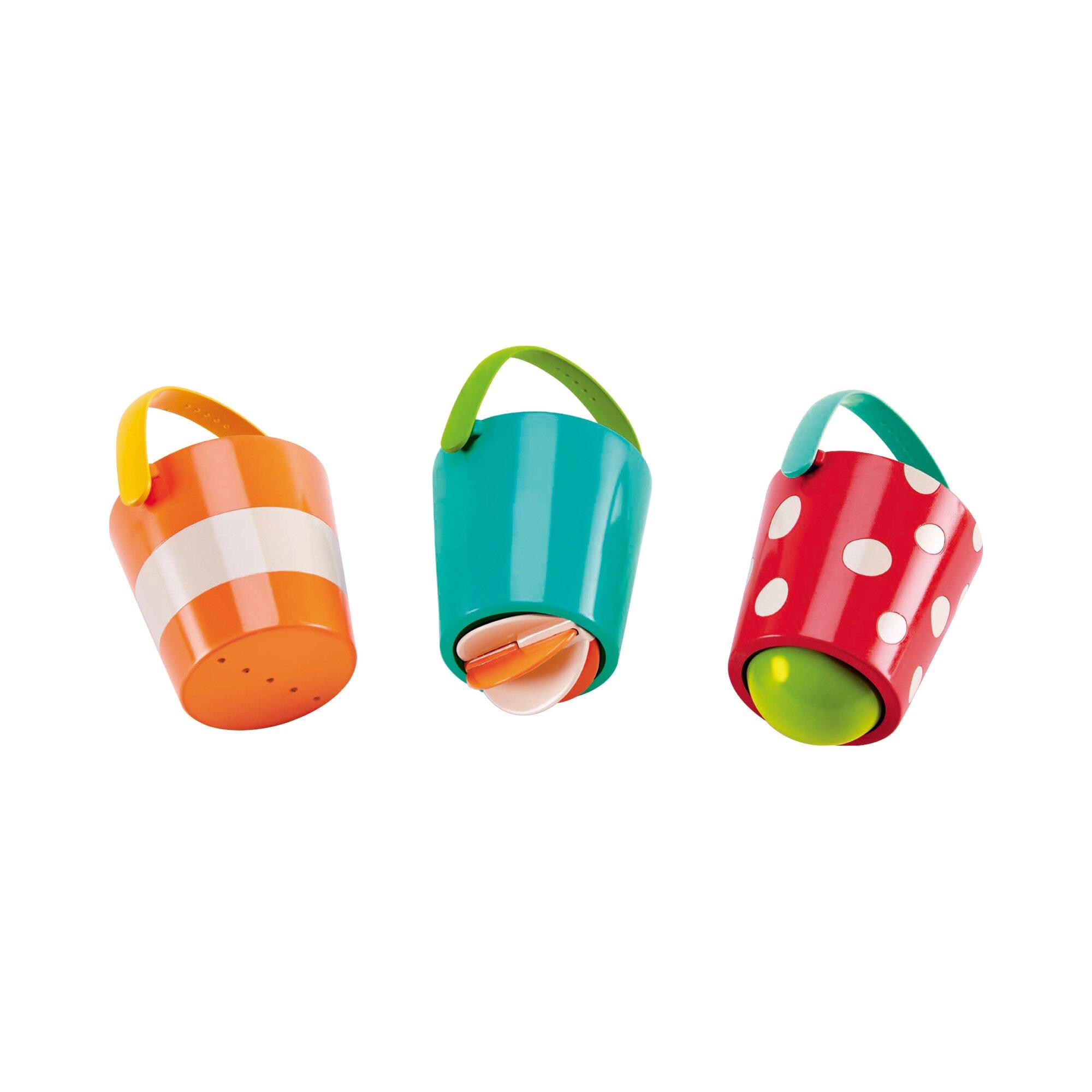 Hape Badespielzeug Buntes Eimer-Set