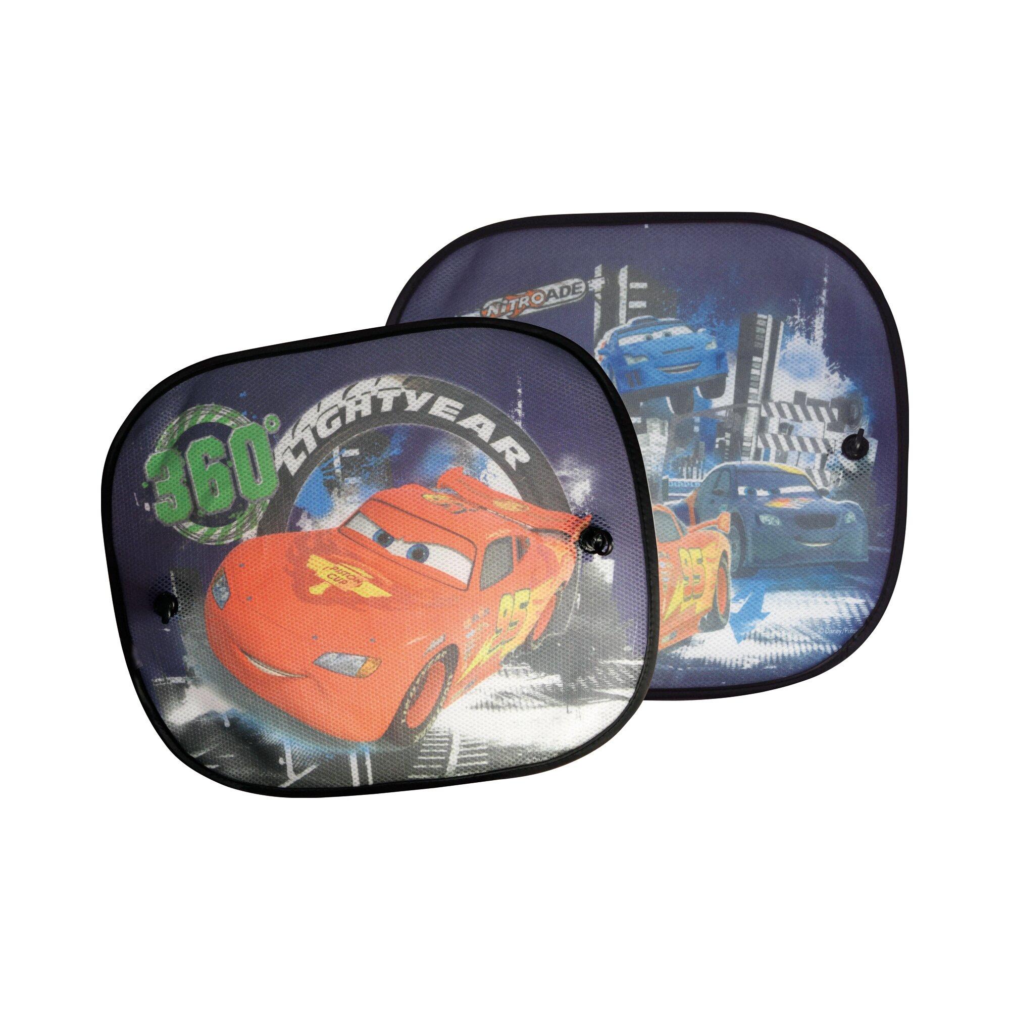 Disney Cars Auto-Sonnenschutz mit UV-Schutz blau
