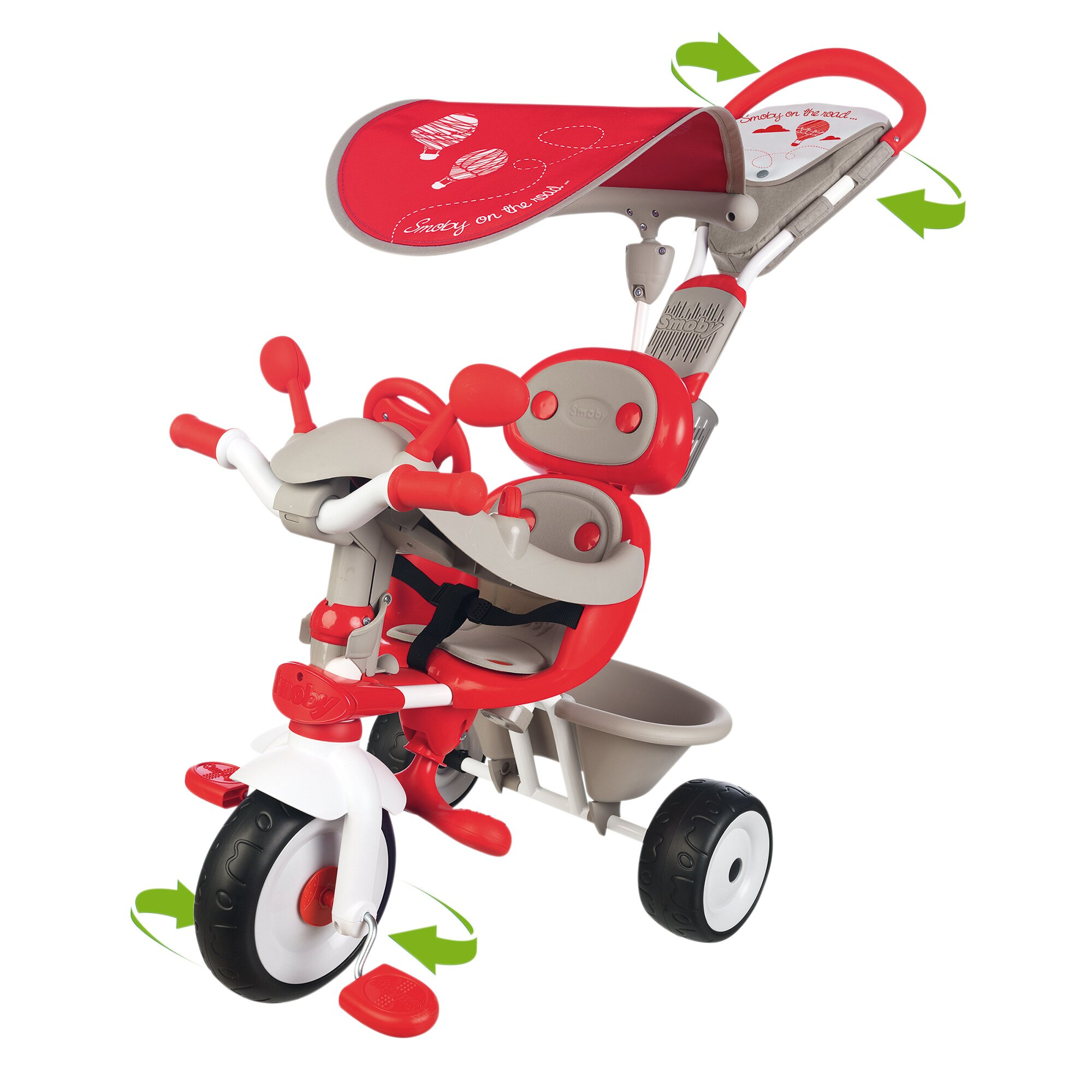 Smoby Dreirad Baby Driver Komfort 4 in 1
