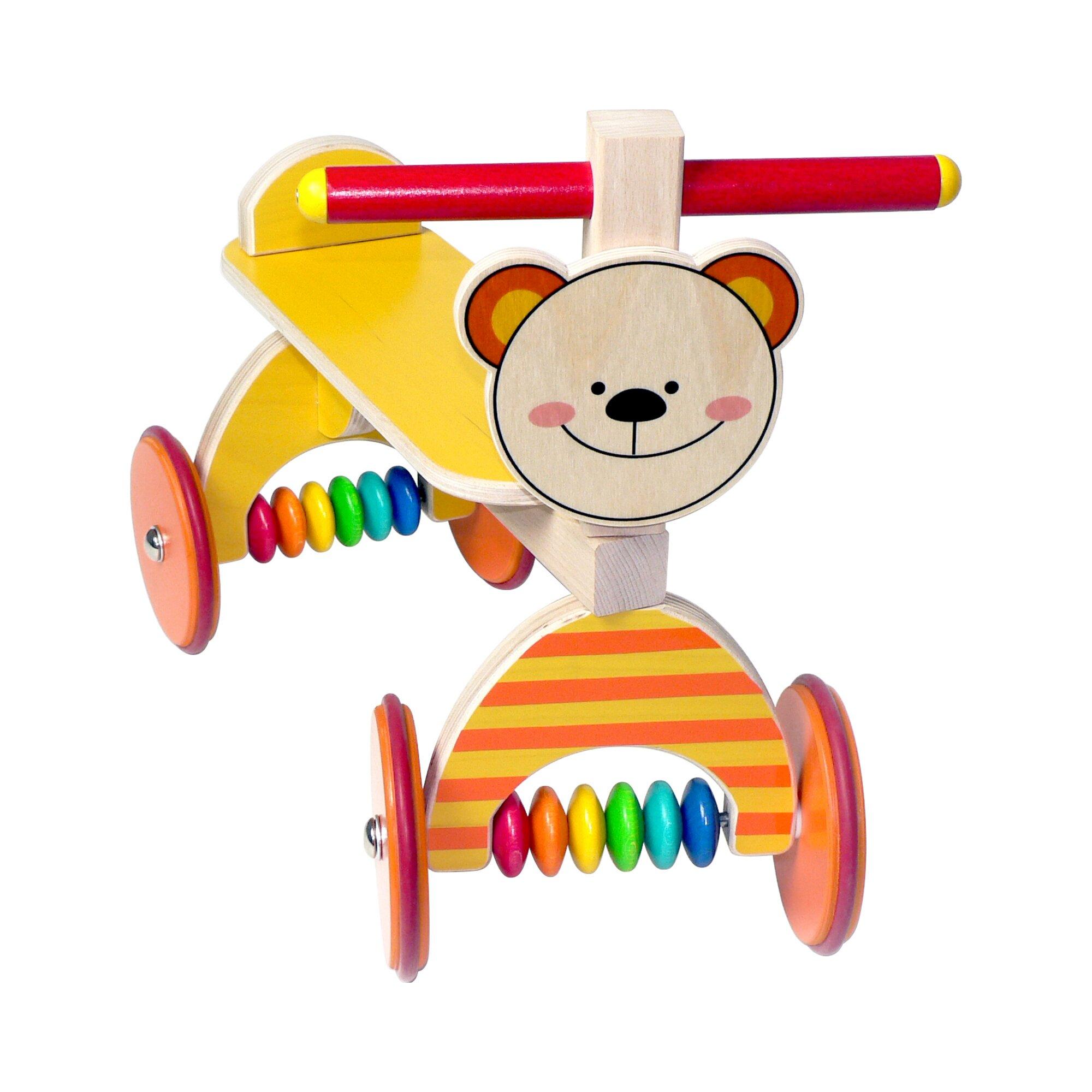 Hess Spielzeug Rutscher Bärchen aus Holz
