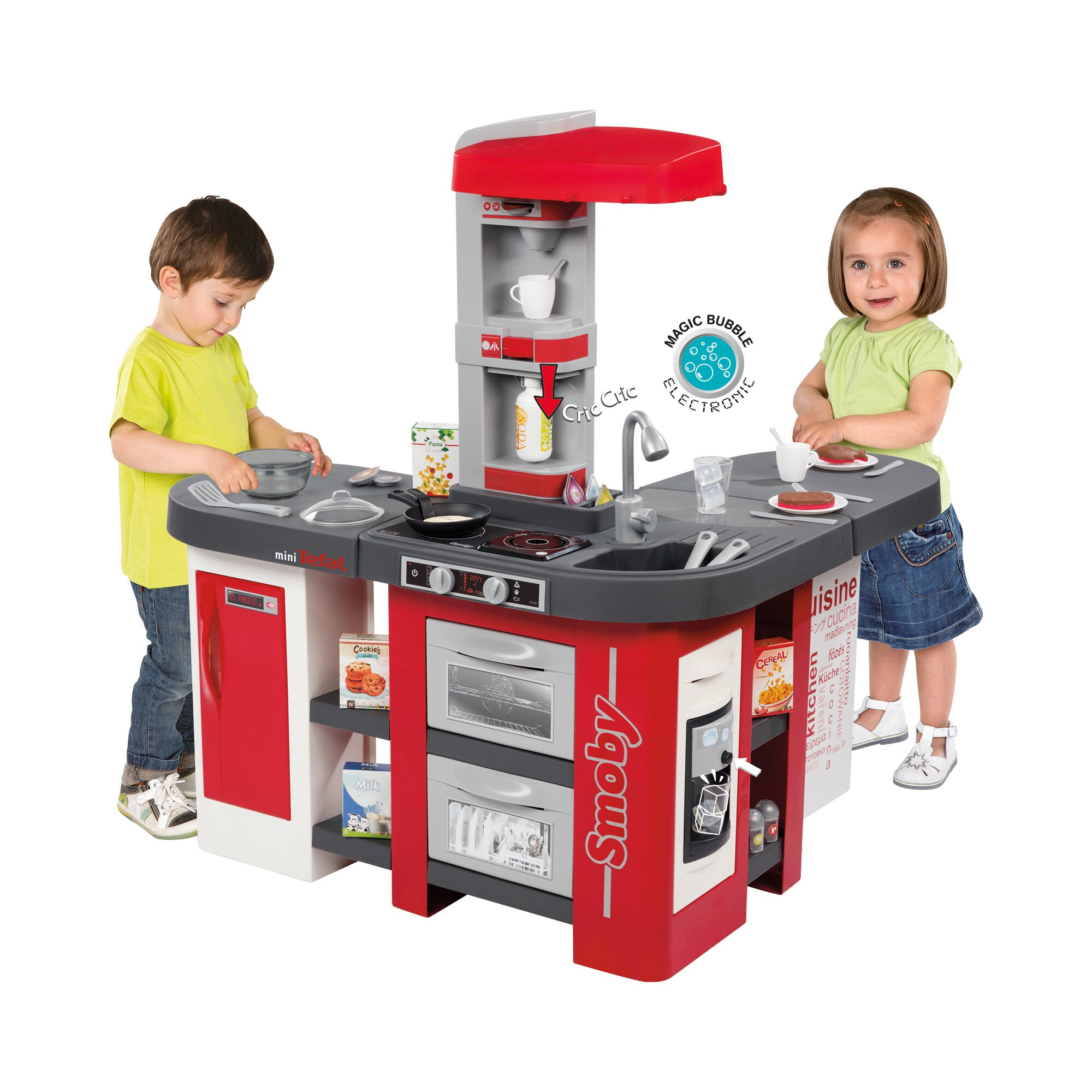 Smoby Kinderküche Tefal Studio Bubble XXL Preisvergleich