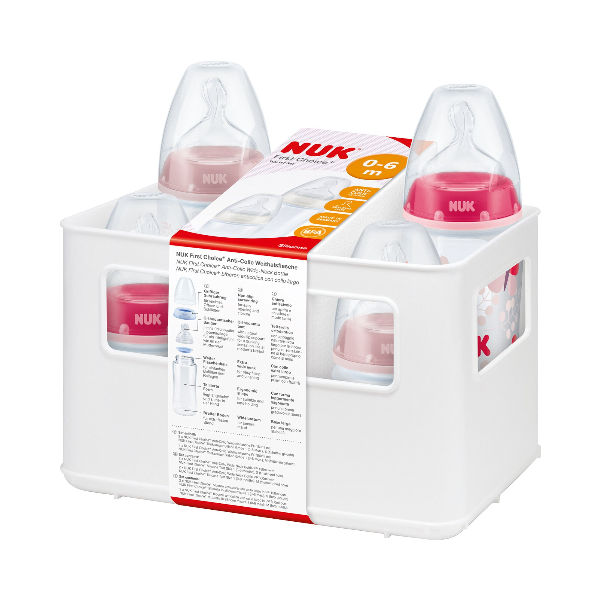 nuk-5-tlg-first-choice-starter-set-150-300ml-0-6m