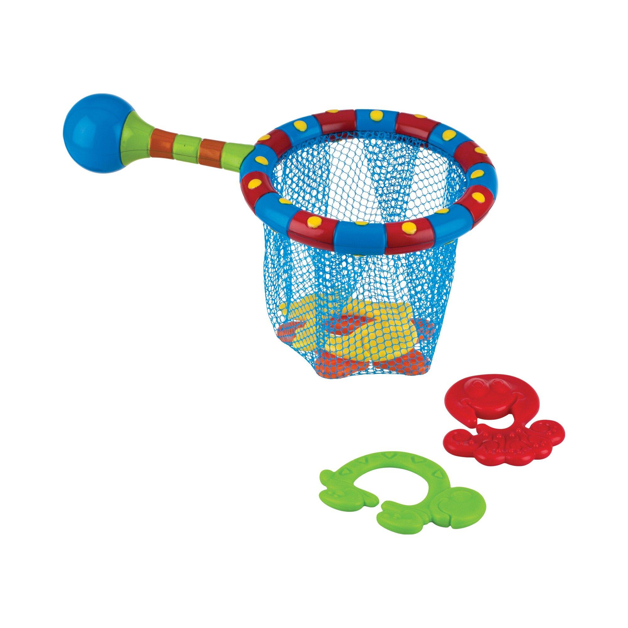 nuby-badespielzeug-fischernetz