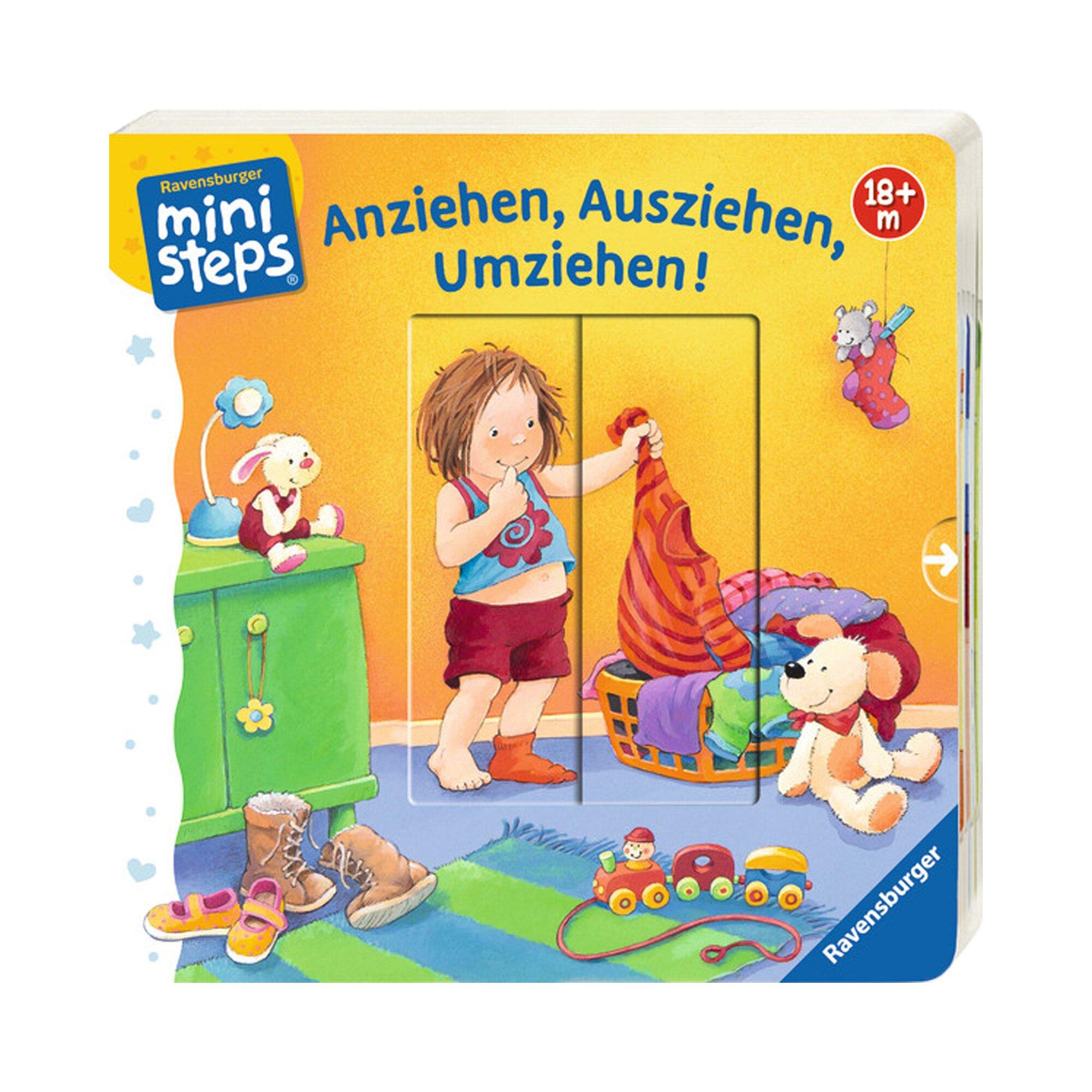 Ministeps Pappbilderbuch Anziehen, Ausziehen, Umziehen!