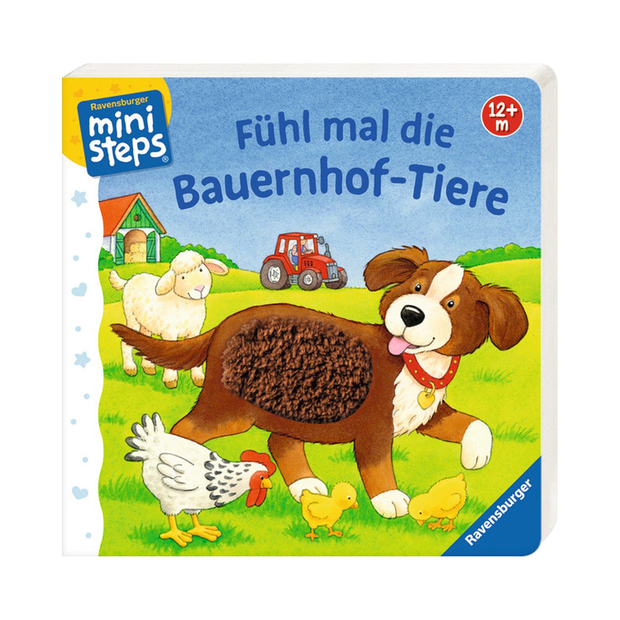 Ministeps Fühlbuch Fühl mal die Bauernhof-Tiere