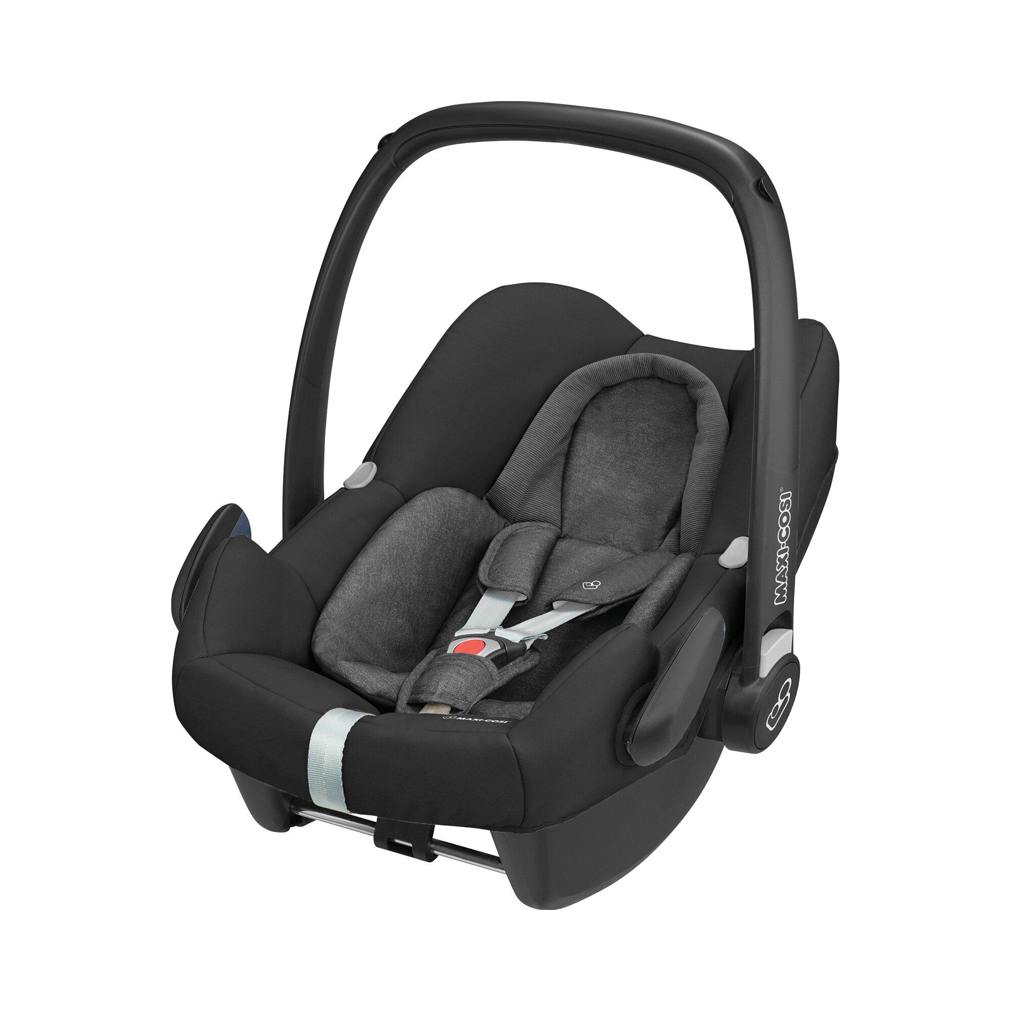 rock-i-size-babyschale-incl-familyfix-one-i-size-schwarz, 269.90 EUR @ babywalz-de
