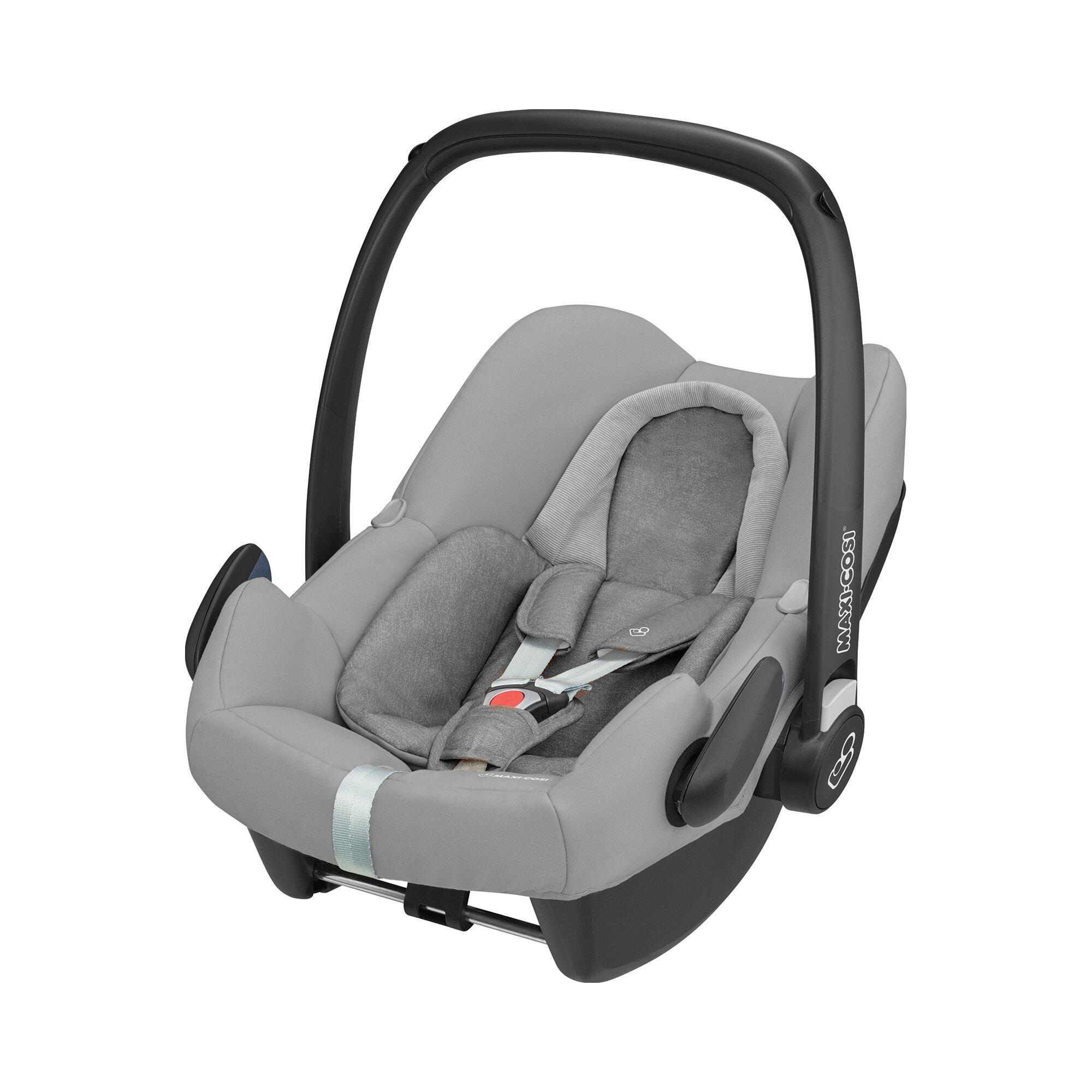 rock-i-size-babyschale-incl-familyfix-one-i-size-grau