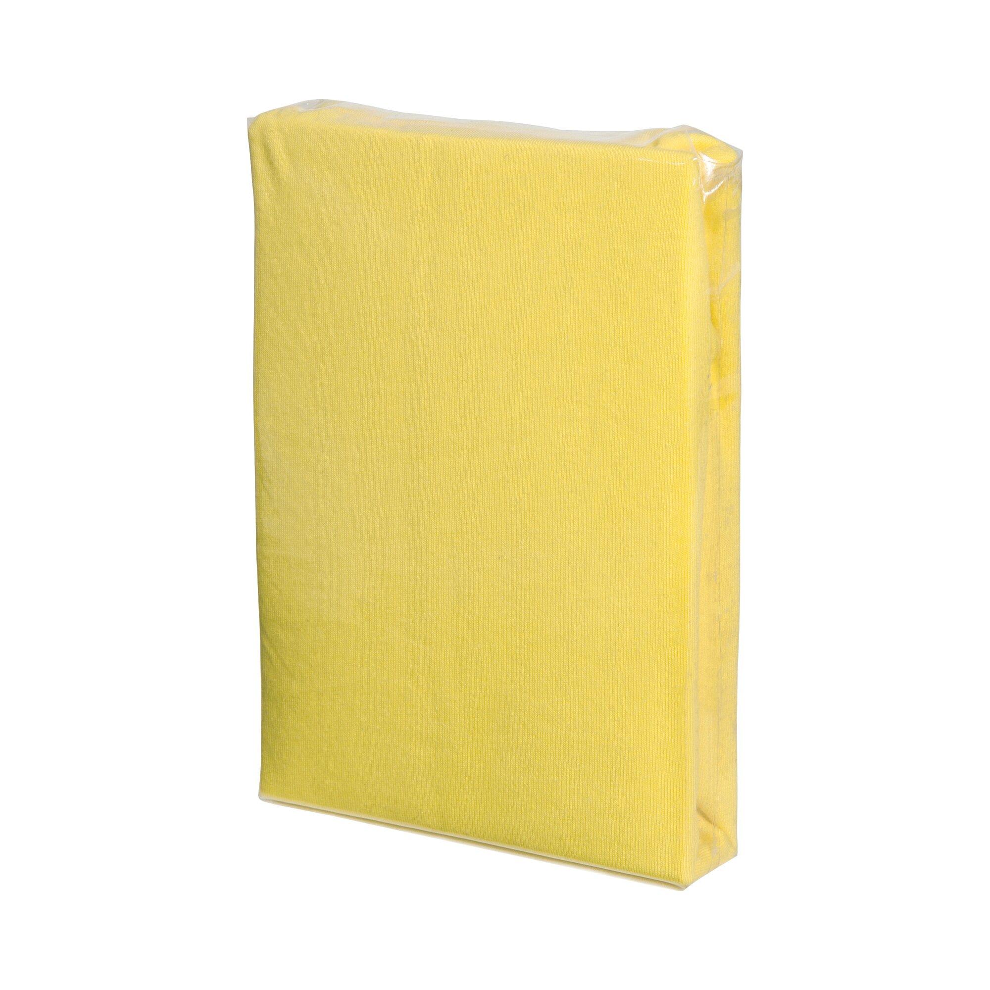 Fillikid Spannbetttuch 90 x 40 gelb