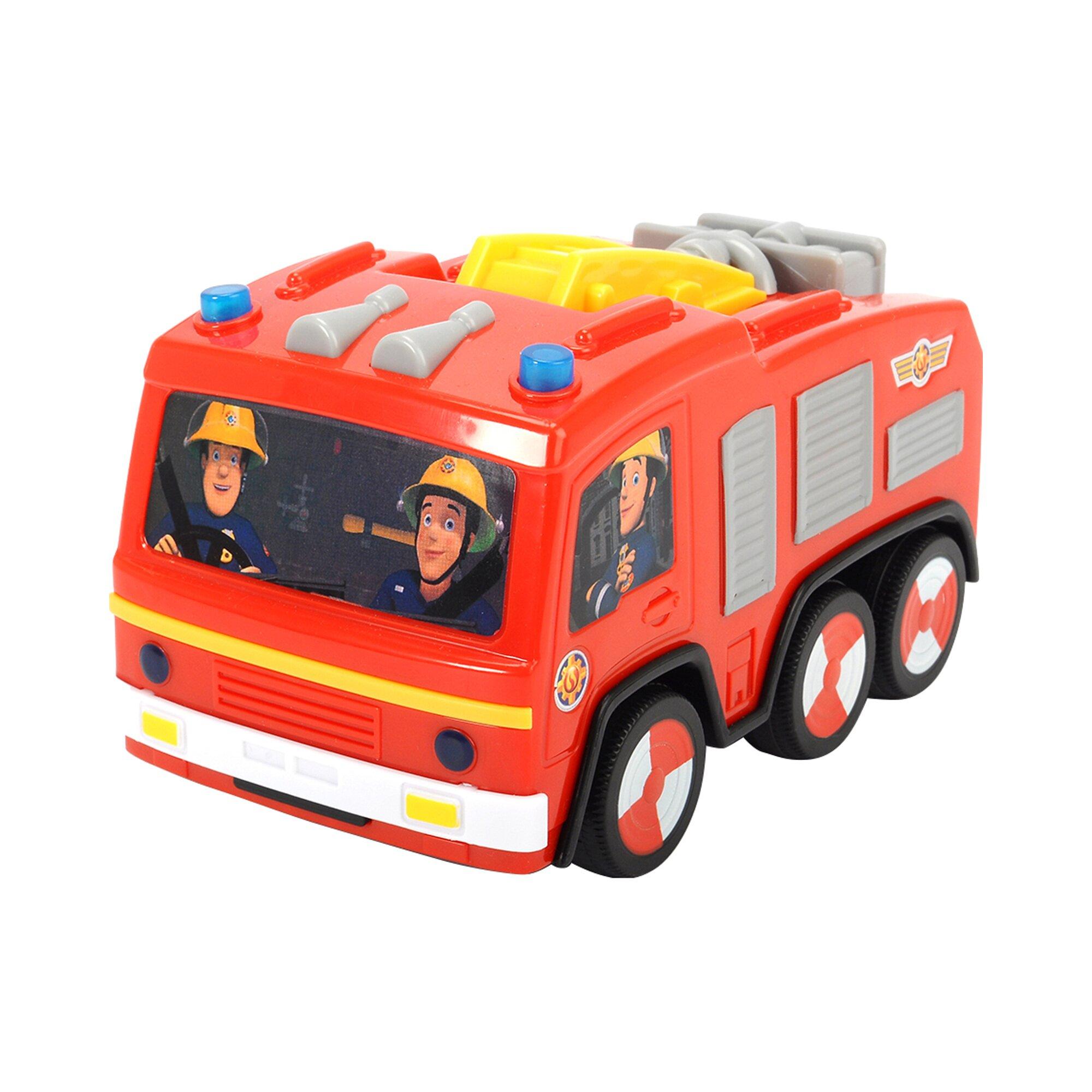 Feuerwehrmann Sam Feuerwehrauto Non Fall Jupiter
