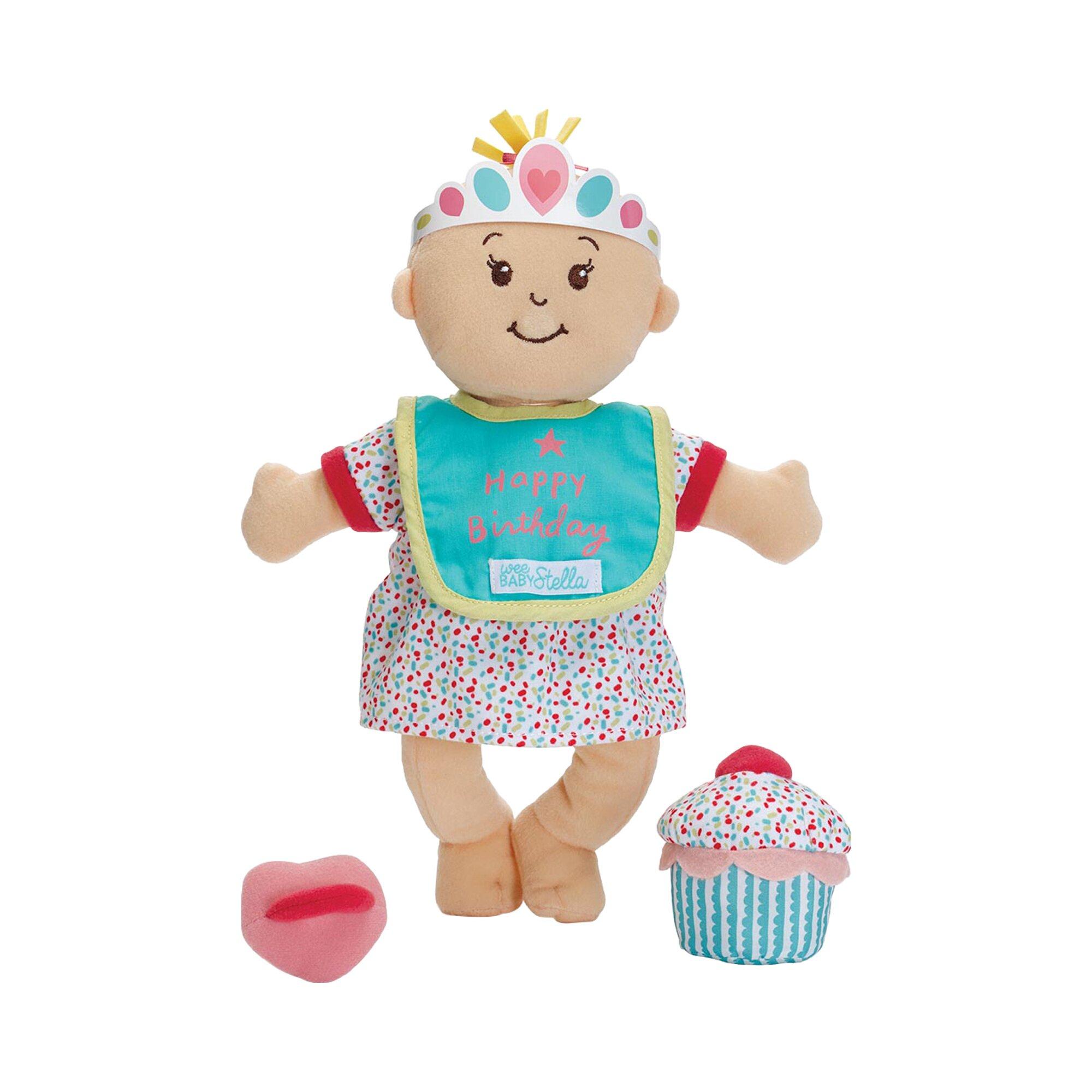 Manhattan Toy Stoffpuppe Stella Geburtstags-Set
