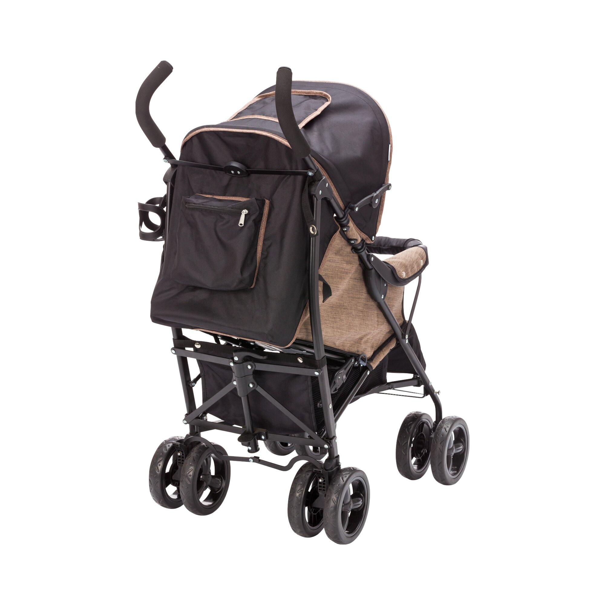 babycab-elias-buggy-mit-liegefunktion-braun