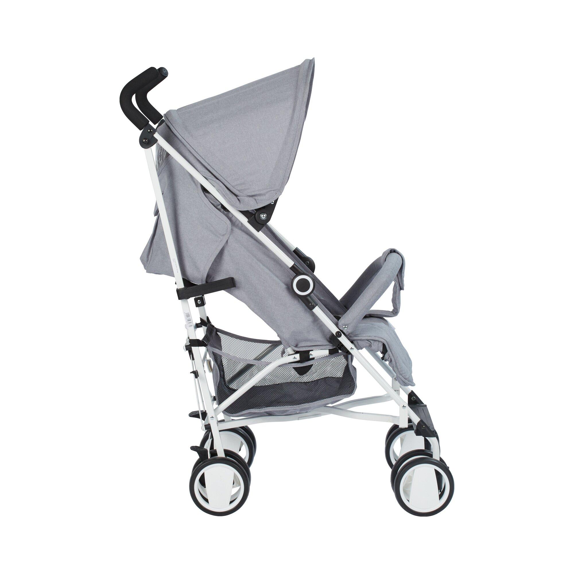 babycab-tim-buggy-mit-liegefunktion-grau