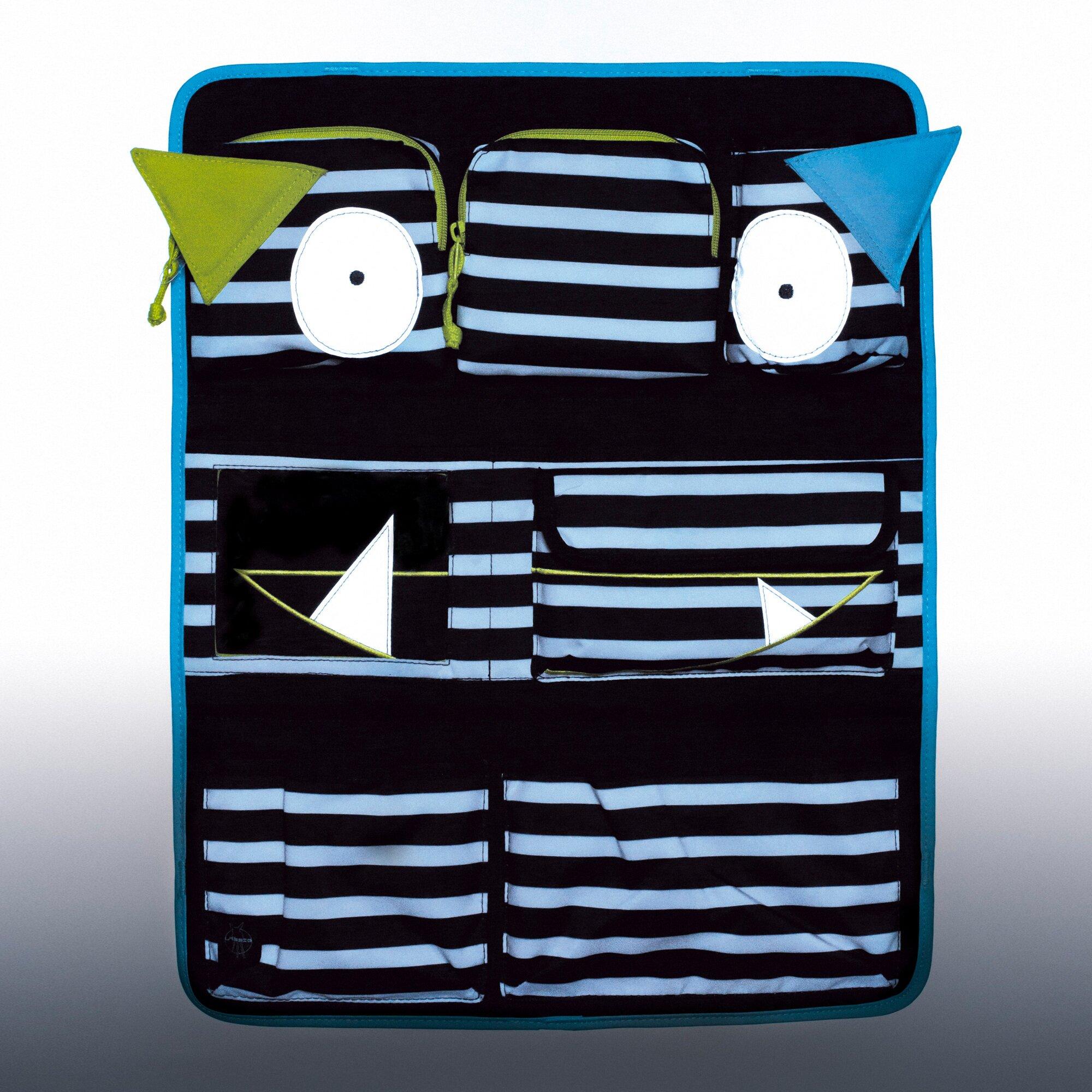 lassig-ruckenlehnen-spielzeugtasche-car-wrap-to-go-little-monsters