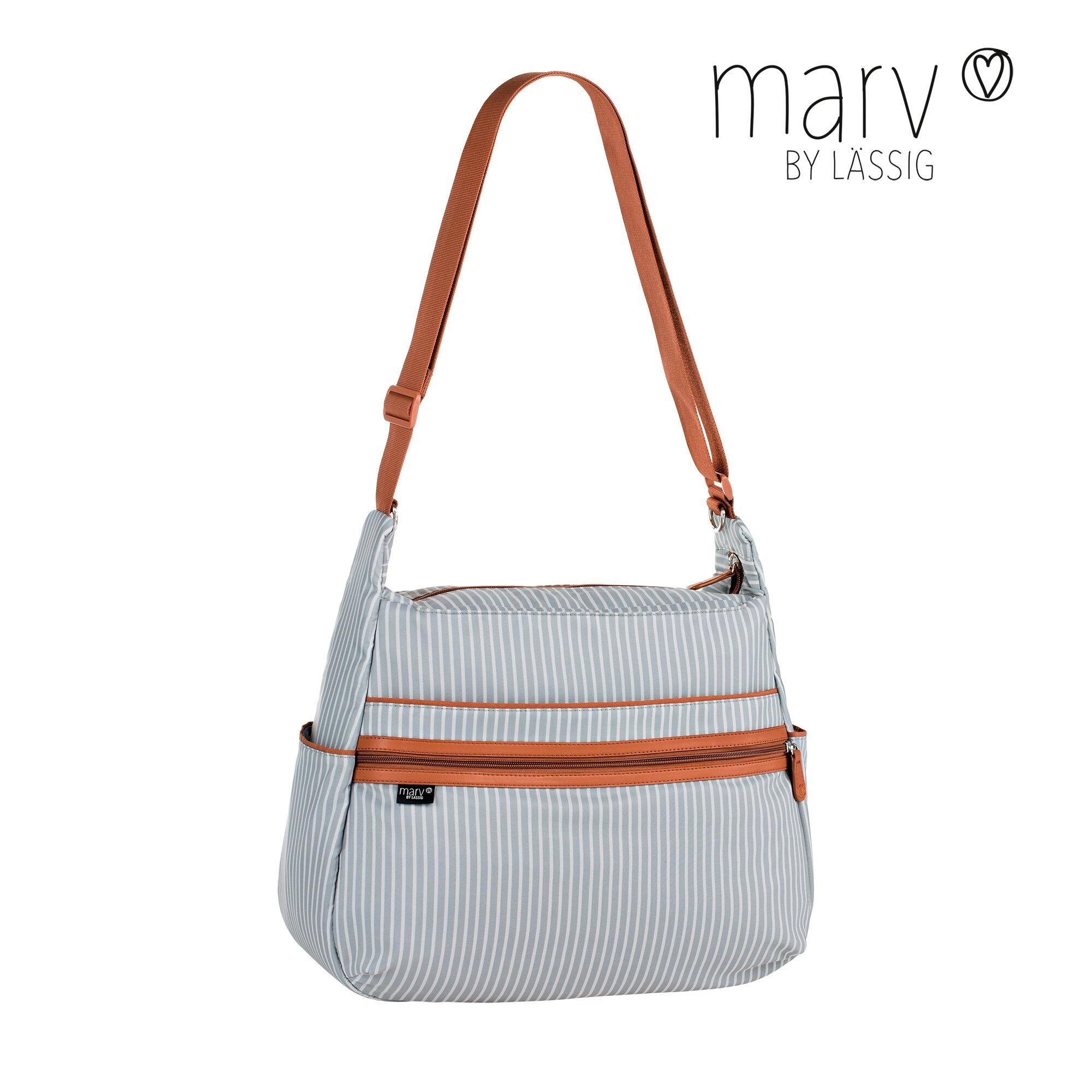 Marv By Lässig Wickeltasche Urban Bag grau