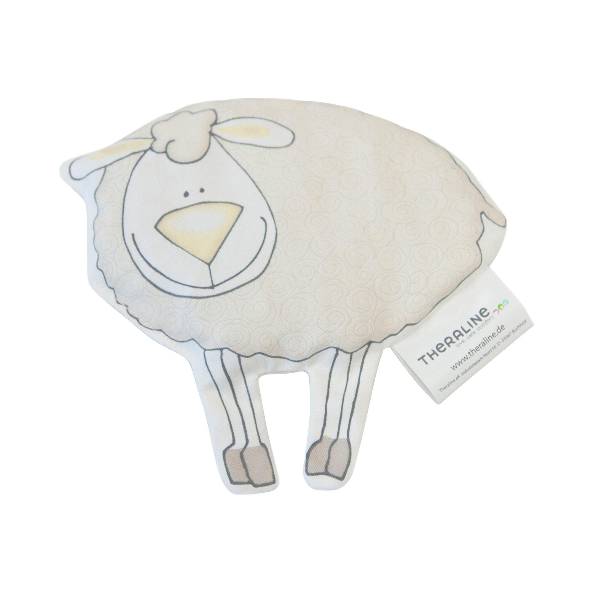 Theraline Wärmekissen Schaf mit Kirschkernfüllung