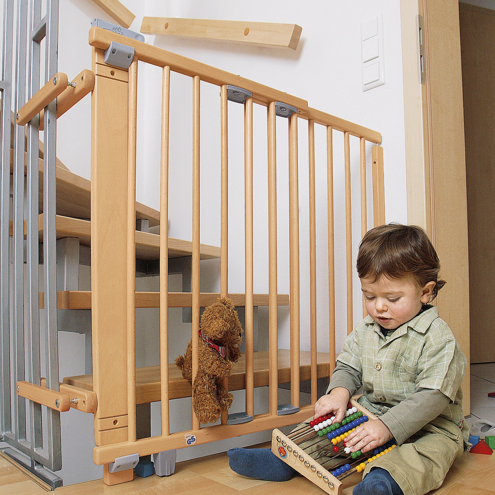 Barri res de s curit escaliers chambre et maison - Barriere securite bebe ...
