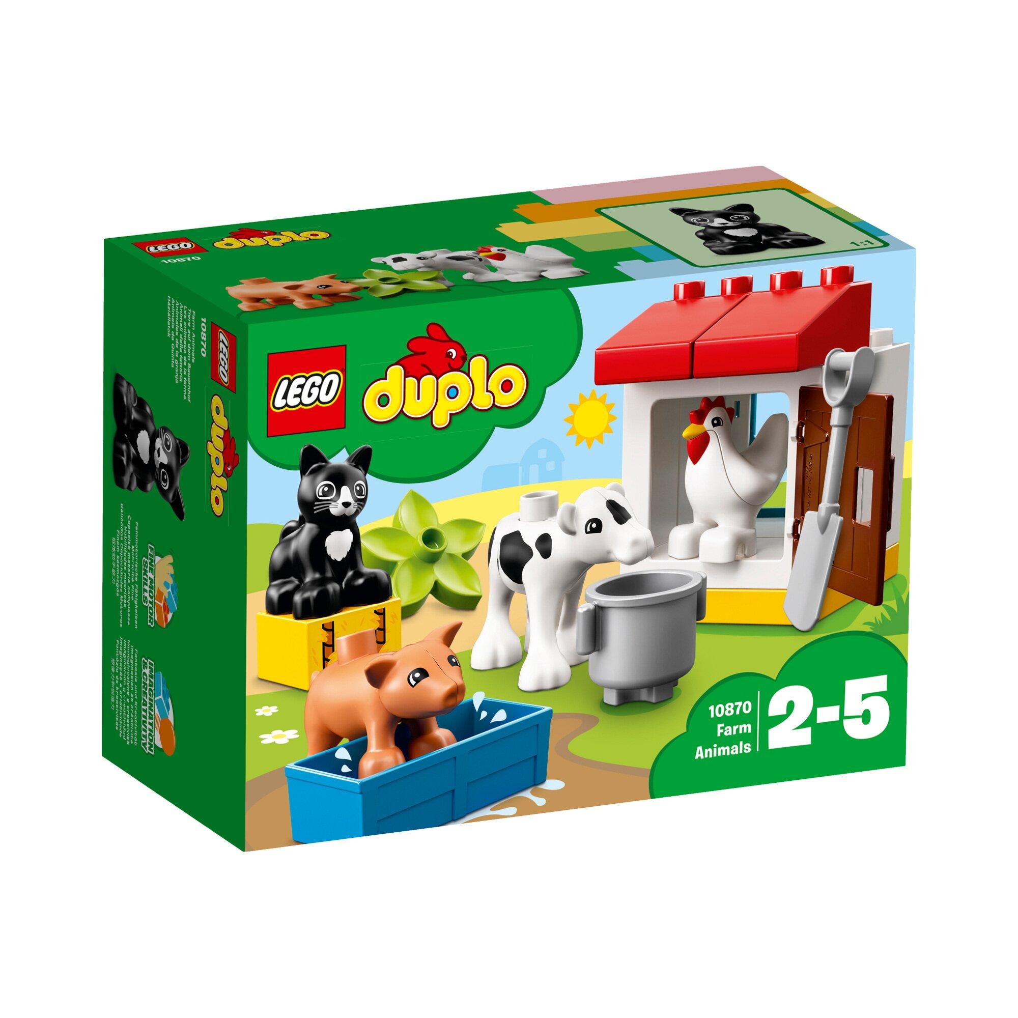 Duplo® 10870 Tiere auf dem Bauernhof