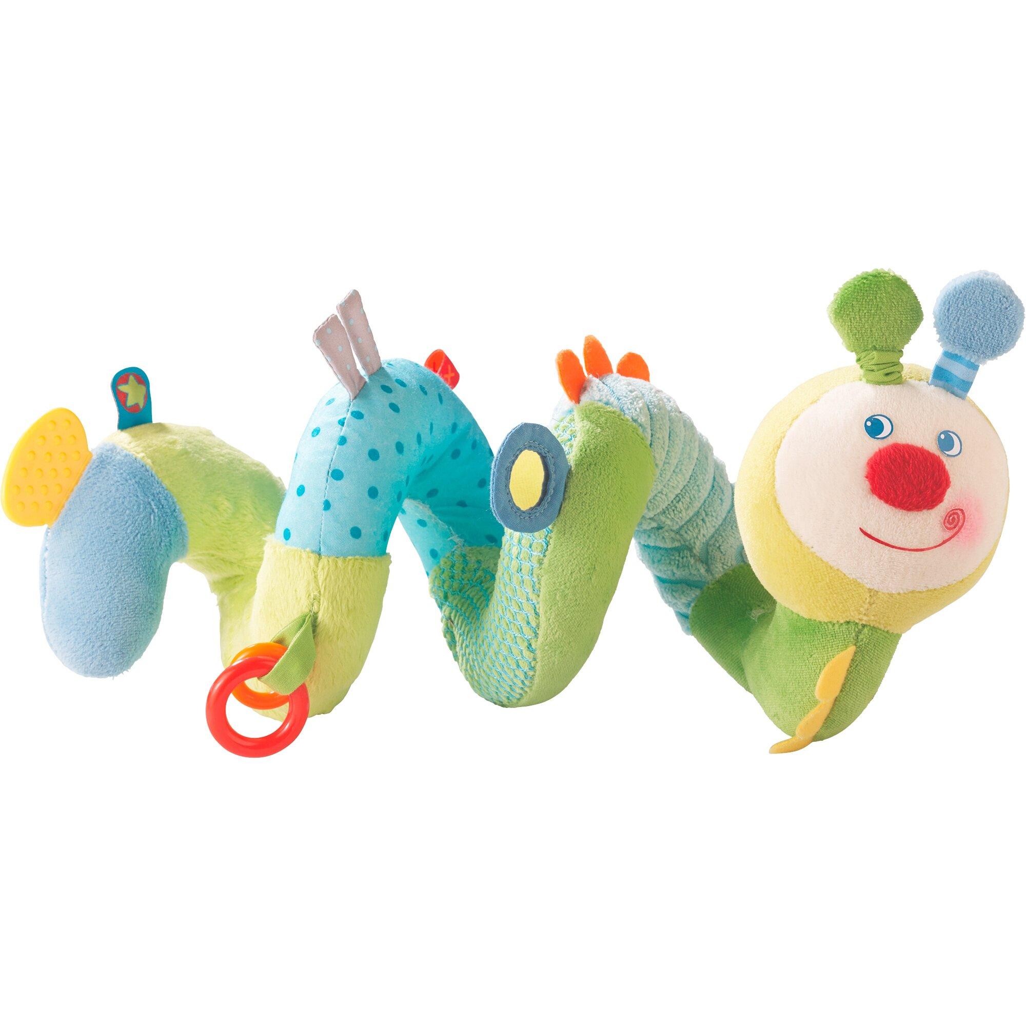 Haba Spielspirale Frühlingswürmchen mehrfarbig