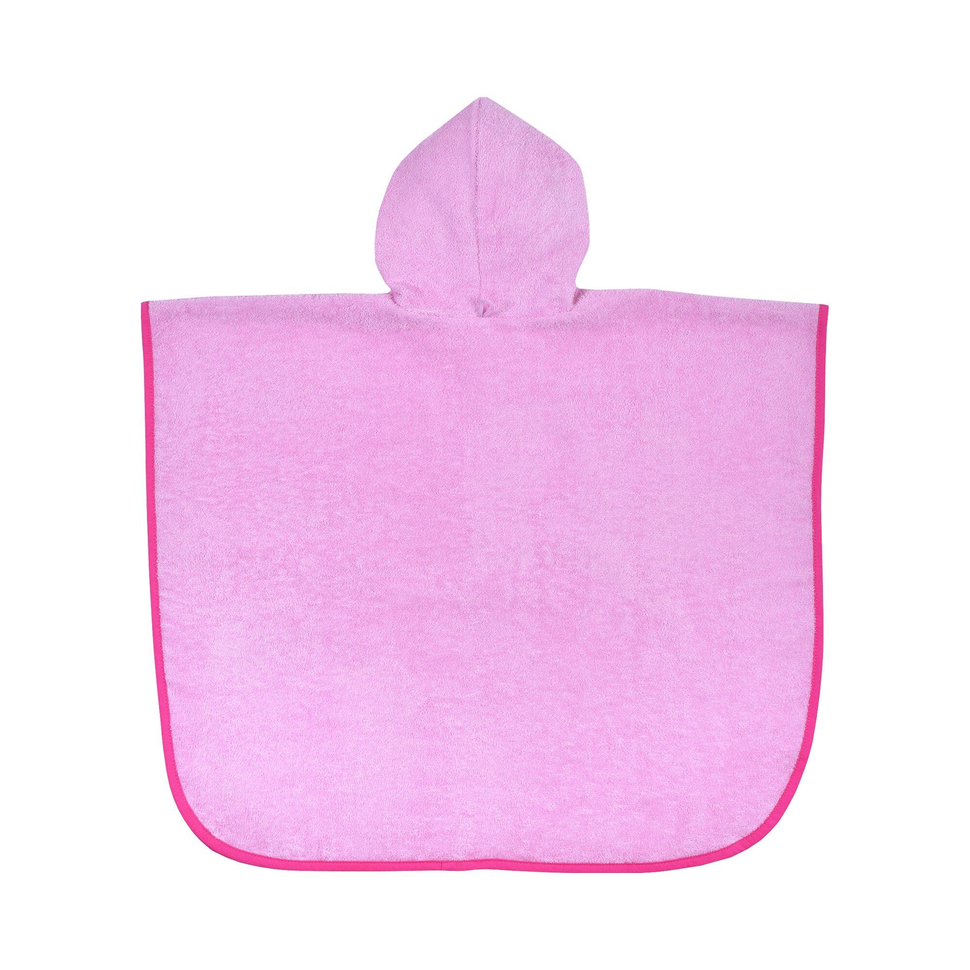 worner-badeponcho-tierpyramide-rosa