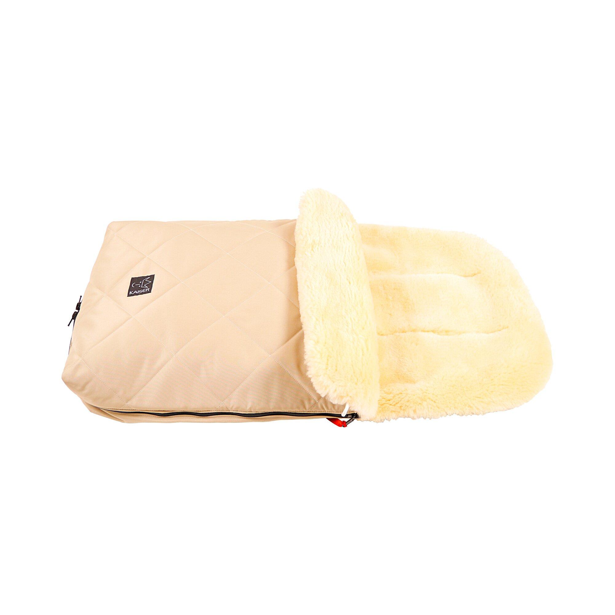 kaiser-lammfellfu-sack-naturell-fur-kinderwagen-buggy-beige