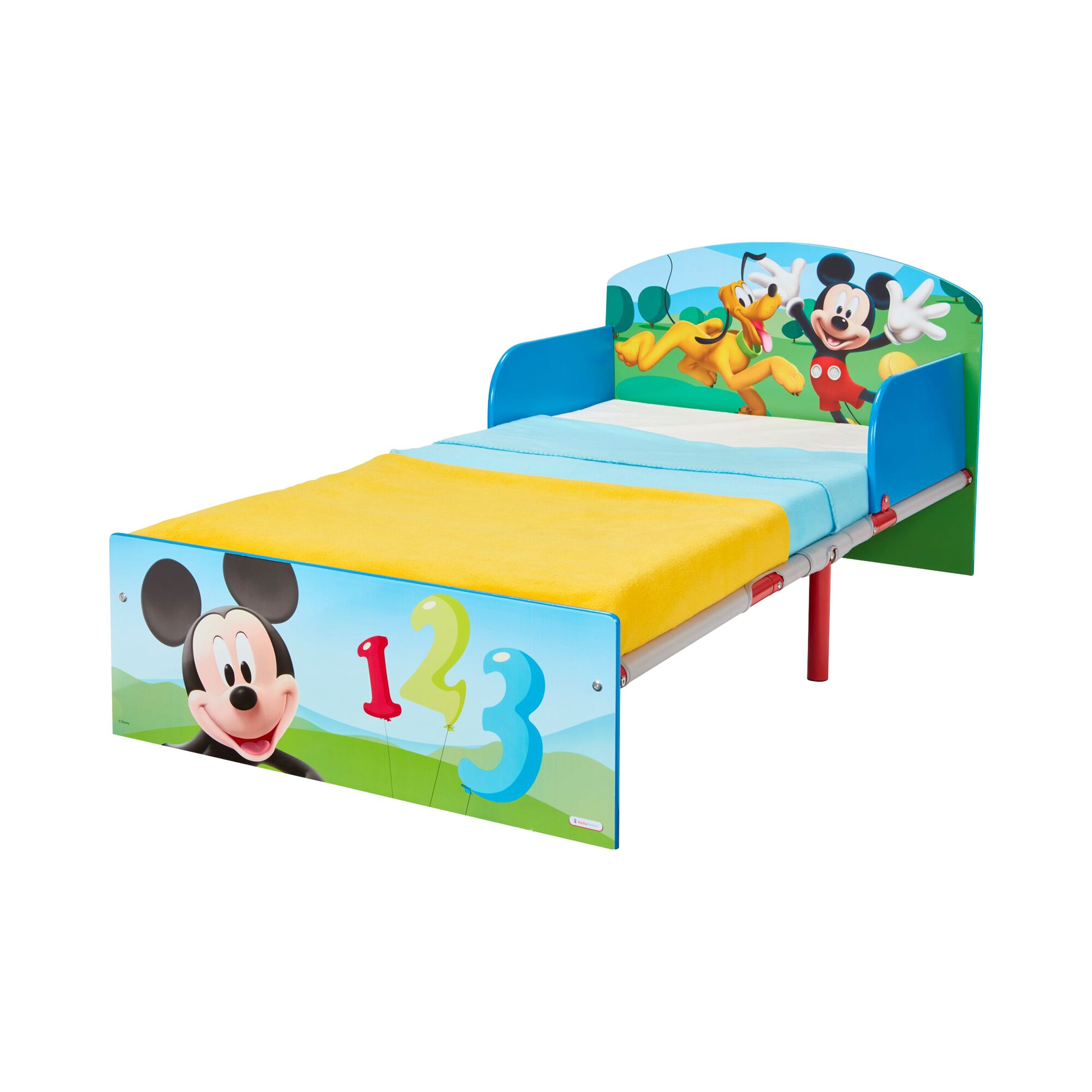 Disney Mickey Mouse & Friends Kinderbett Mickey 70 x 140 cm