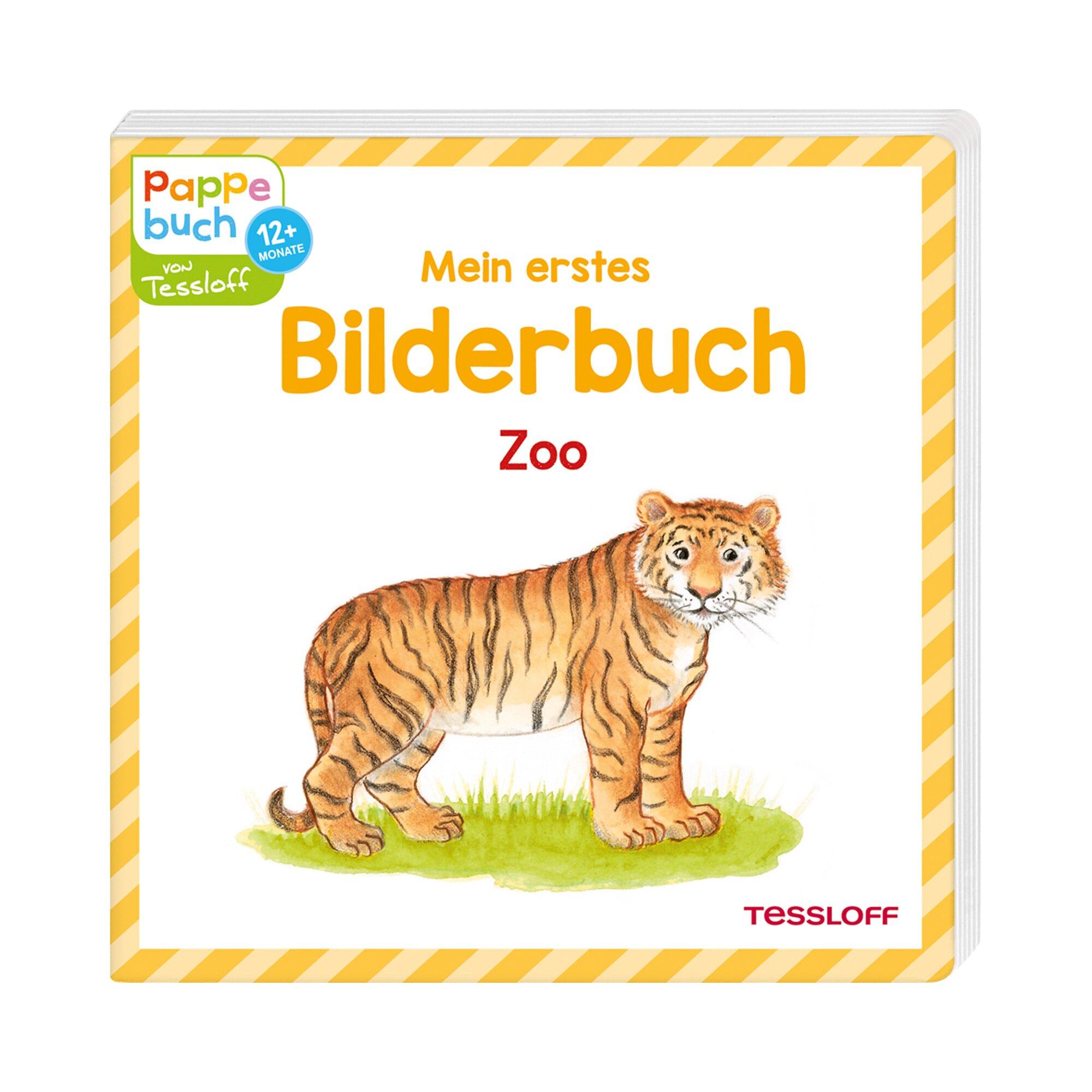 Tessloff Verlag Pappbilderbuch Mein erstes Bilderbuch Zoo