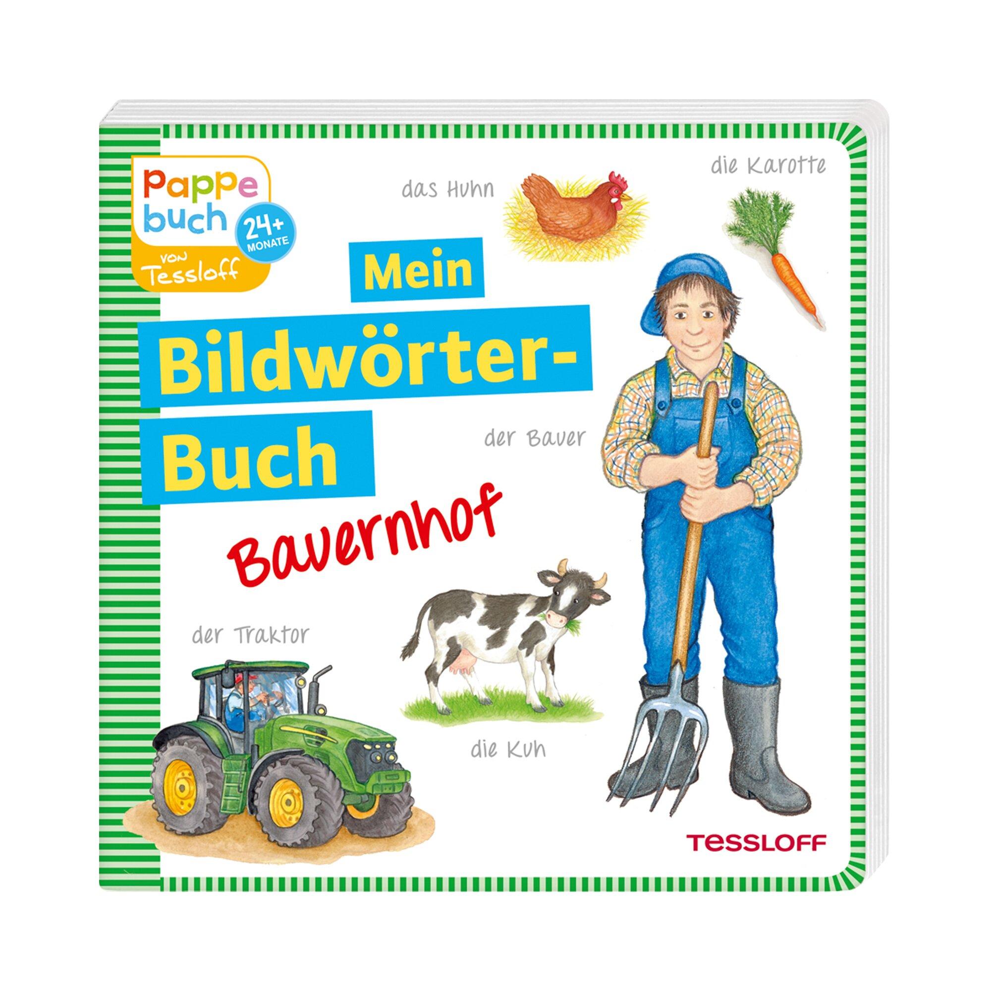 Tessloff Verlag Pappbilderbuch Mein Bildwörterbuch Bauernhof