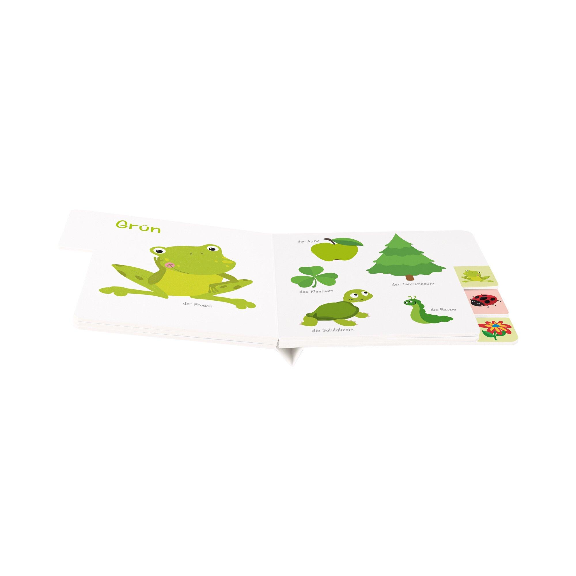 Tessloff Verlag Pappbilderbuch Mein erstes Registerbuch Farben Preisvergleich