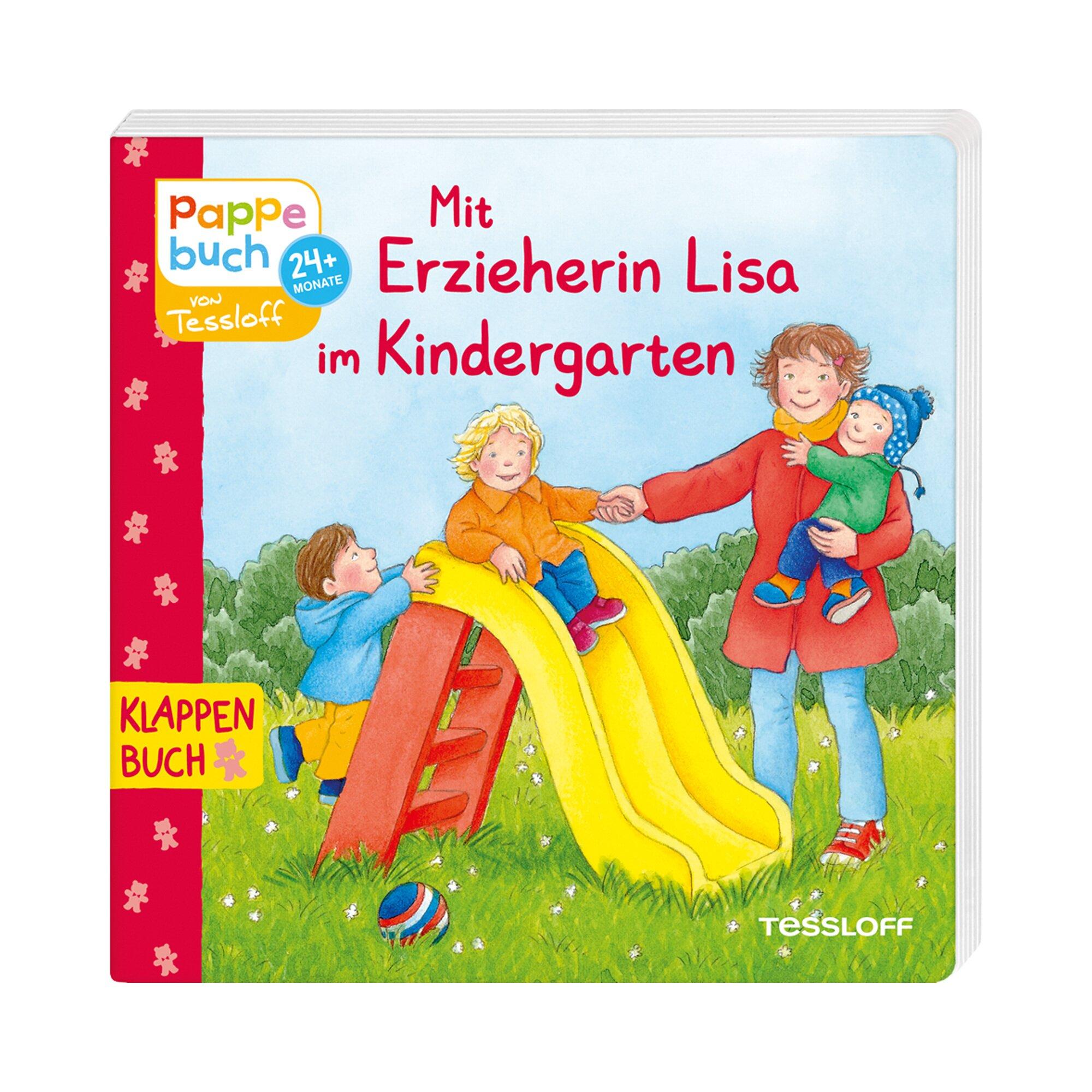 Tessloff Verlag Klappenbuch Mit Erzieherin Lisa im Kindergarten