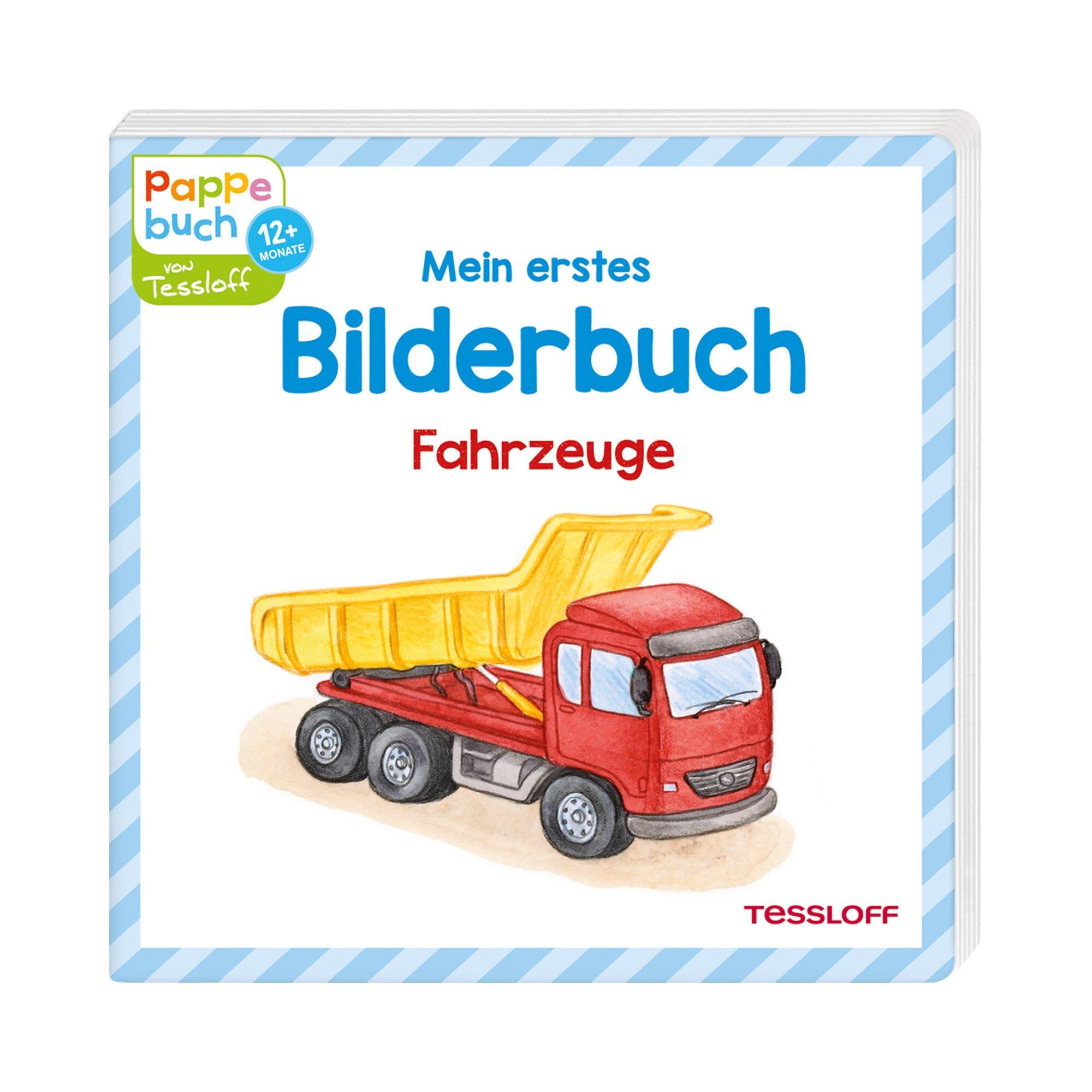 Tessloff Verlag Pappbilderbuch - Mein erstes Bilderbuch Fahrzeuge