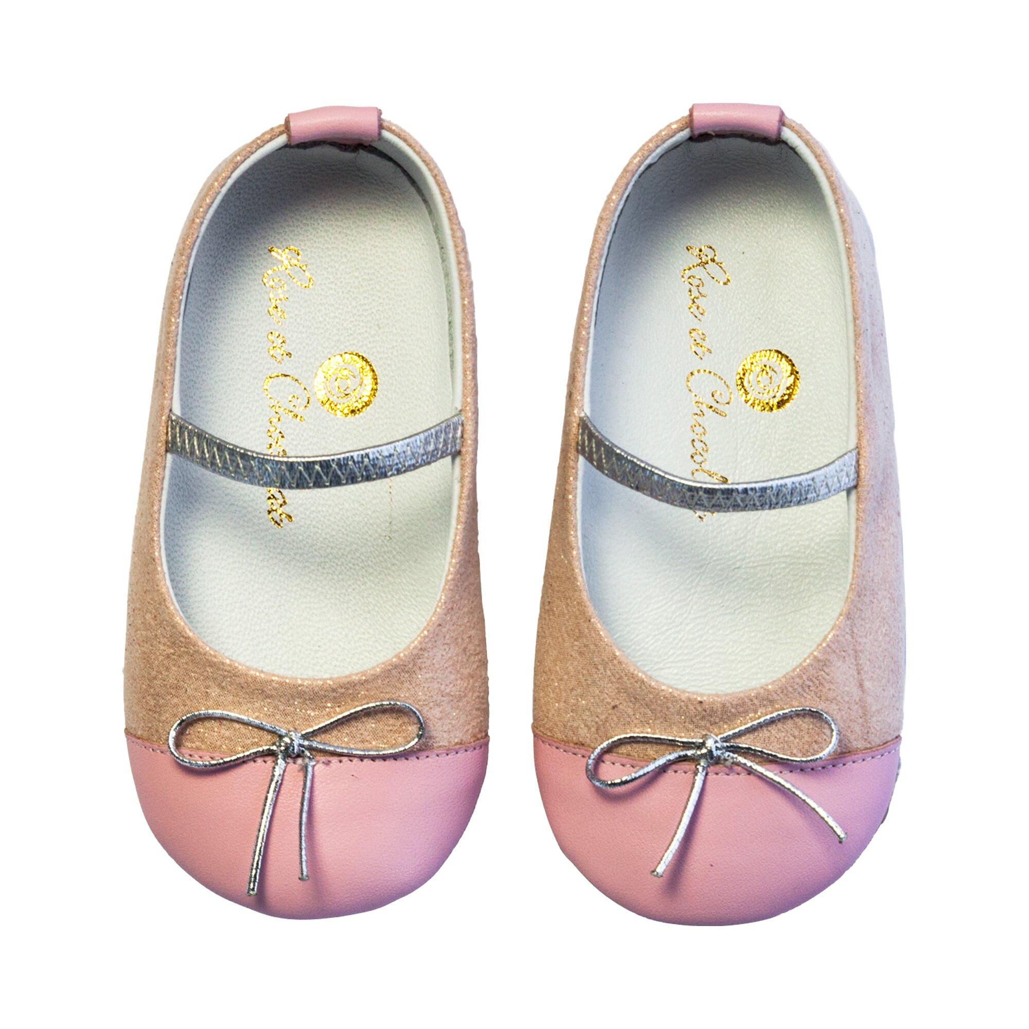 Rose Et Chocolat Ballerina Schleife
