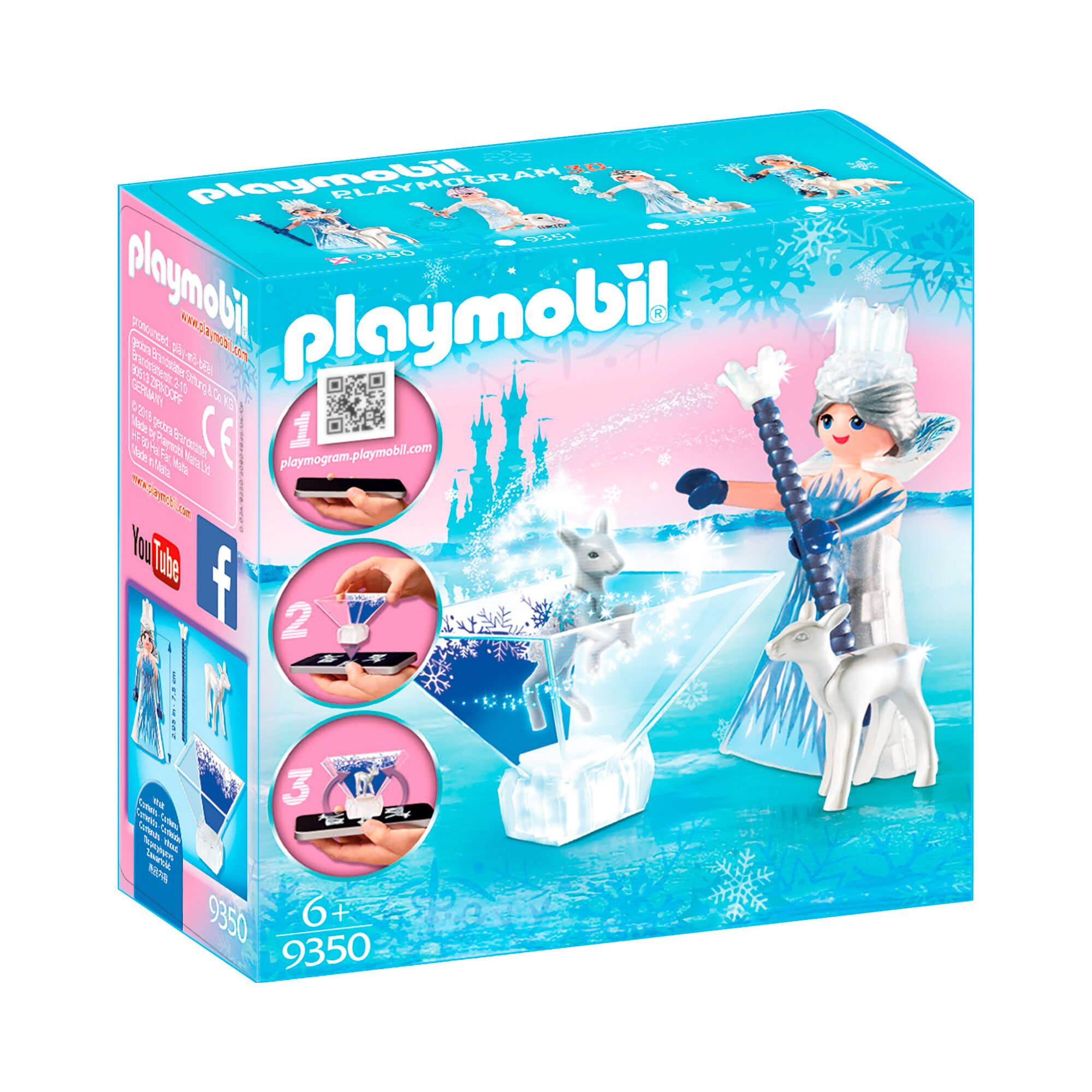Playmogram 3d 9350 Prinzessin Eiskristall
