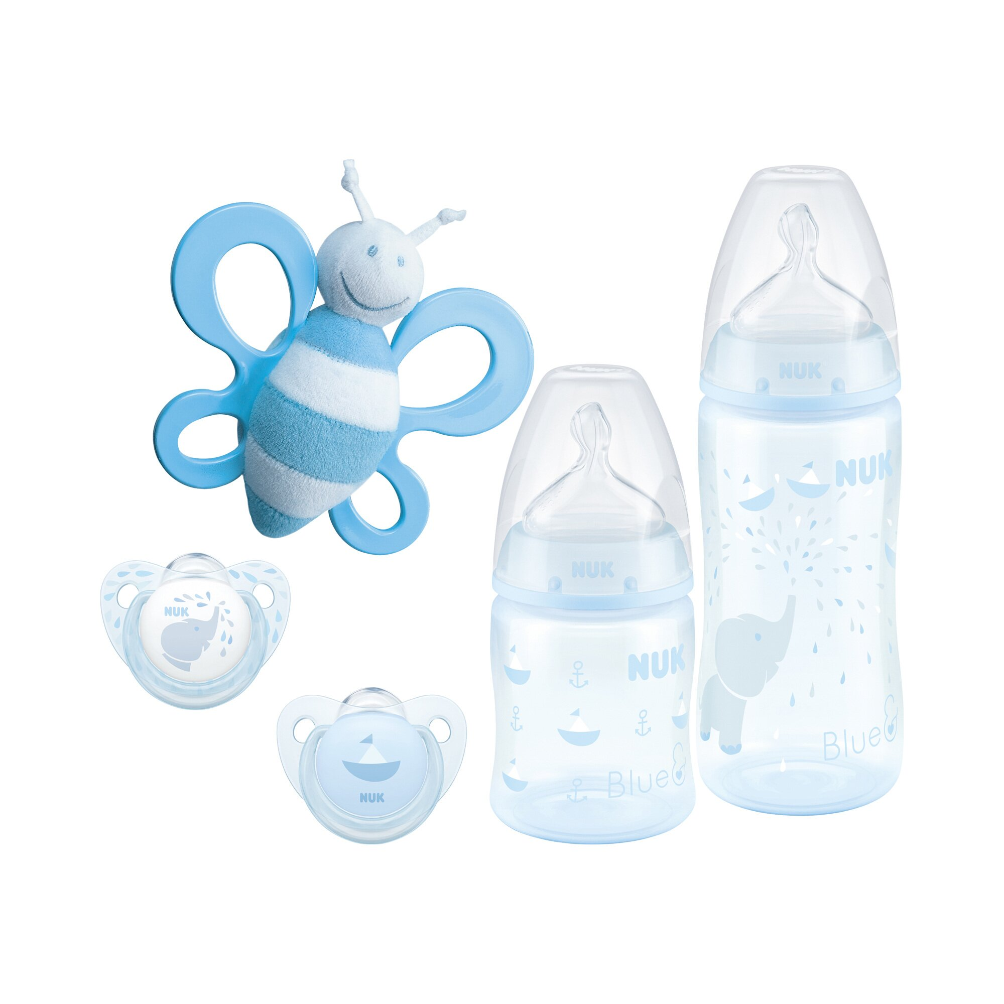 Nuk First Choice Plus Starter-Set 150-300 ml, 0-6M