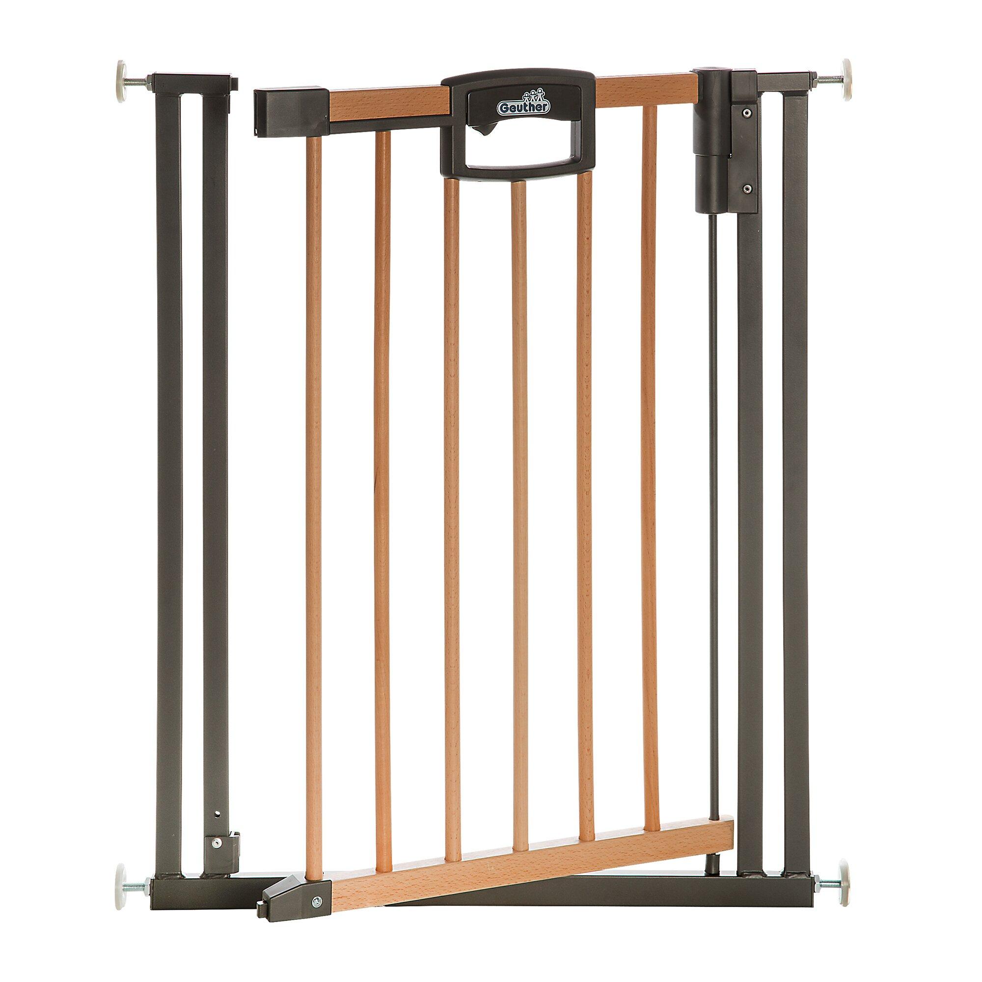 Geuther Türschutzgitter Easylock Wood Plus 80,5-88,5 cm