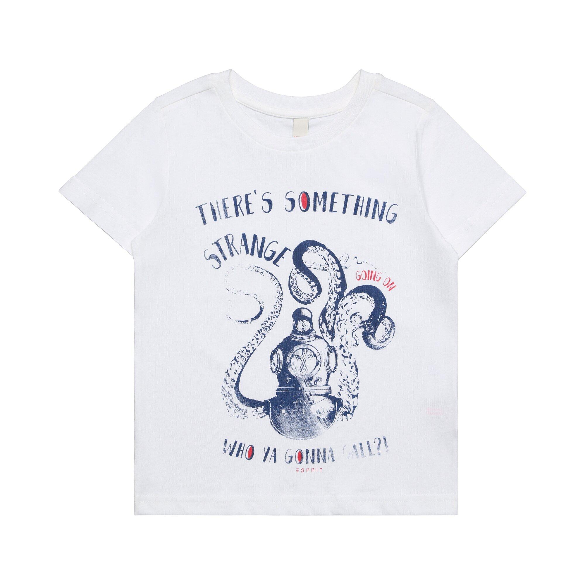 Esprit T-Shirt Oktopus