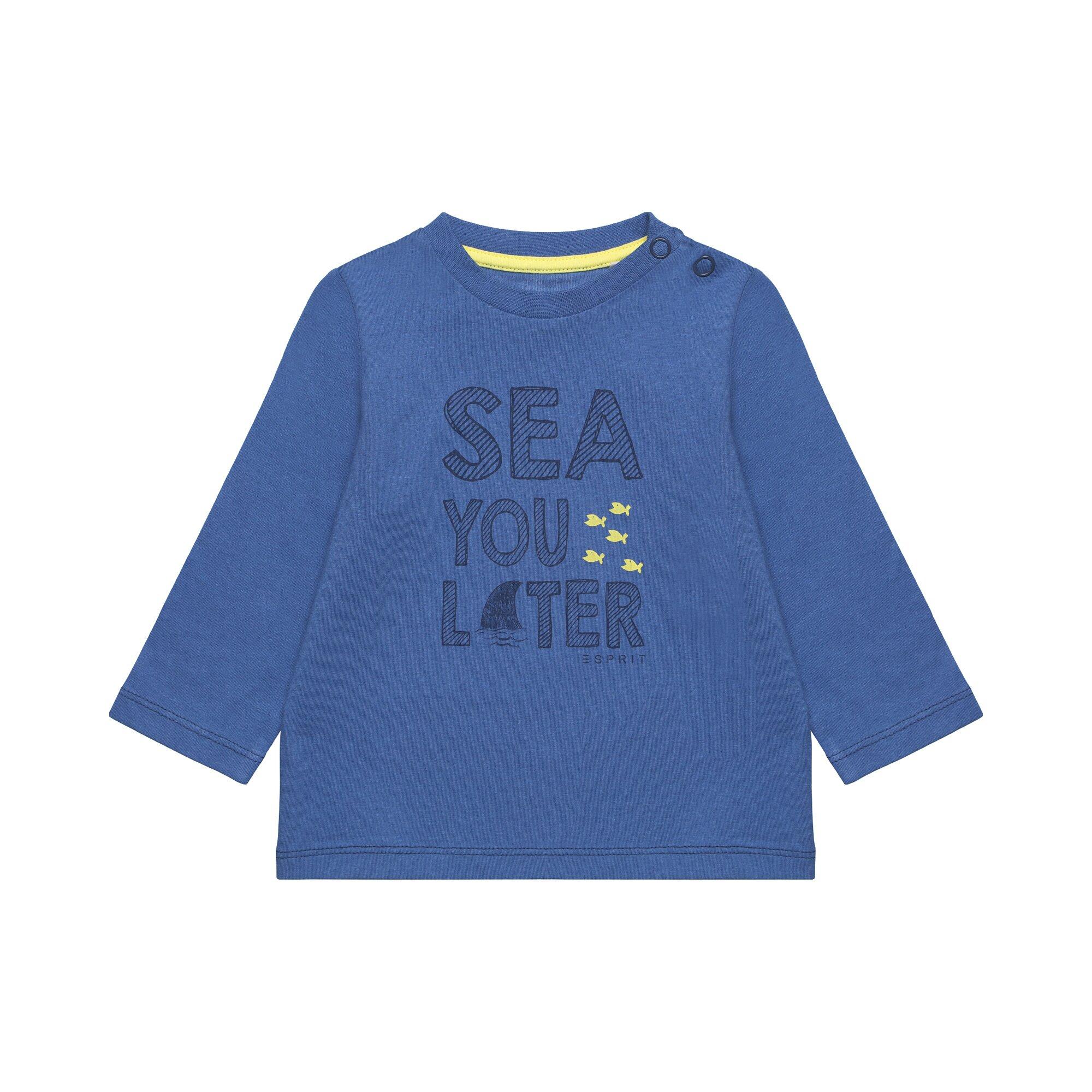 Esprit Shirt langarm See you later
